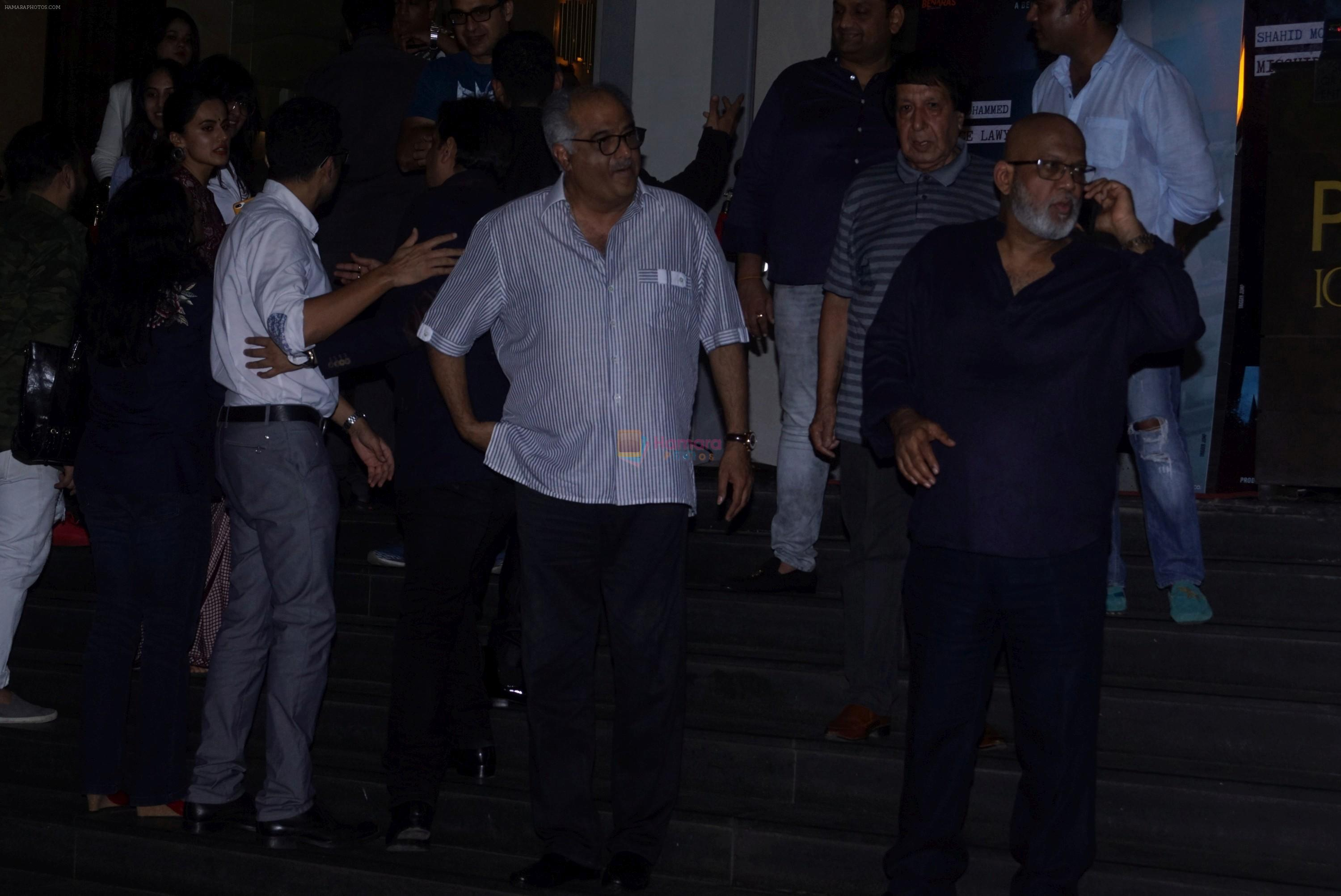 Boney Kapoor at the Special Screening Of Film Mulk on 2nd Aug 2018
