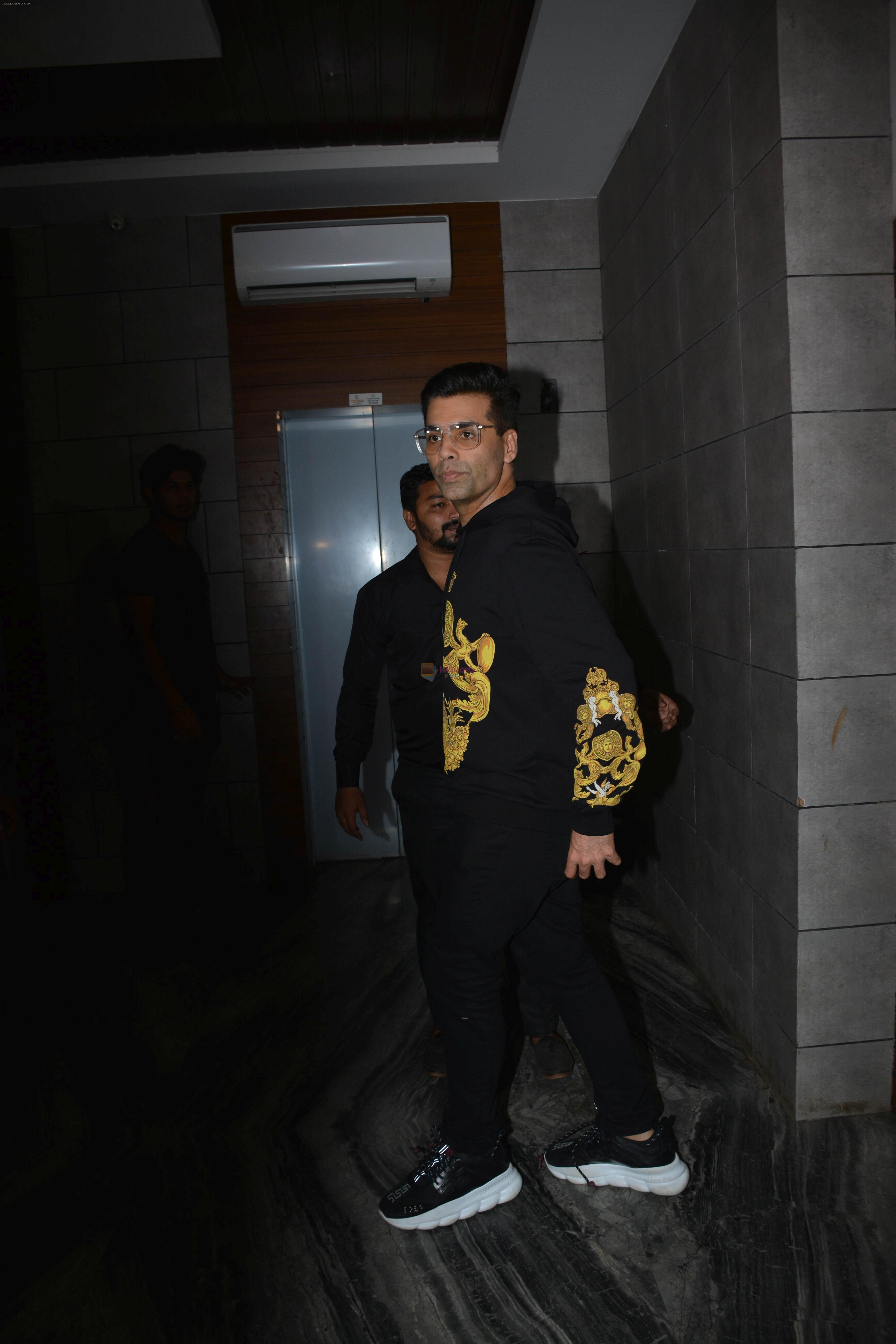 Karan Johar at the Success Party Of Film Dhadak in Escobar Bandra on 9th Aug 2018