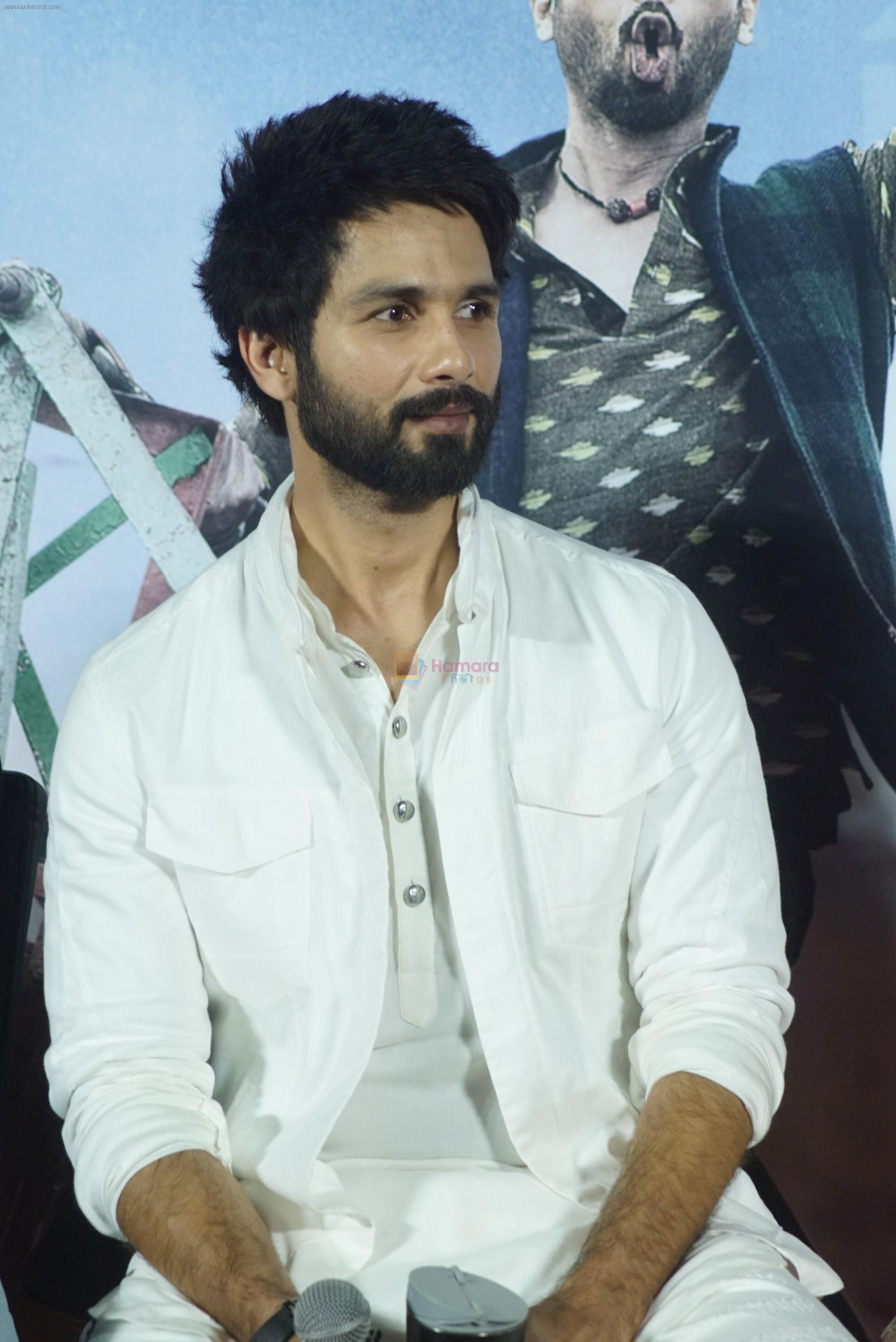 Shahid Kapoor at the trailer launch of film Batti Gul Meter Chalu on 10th Aug 2018