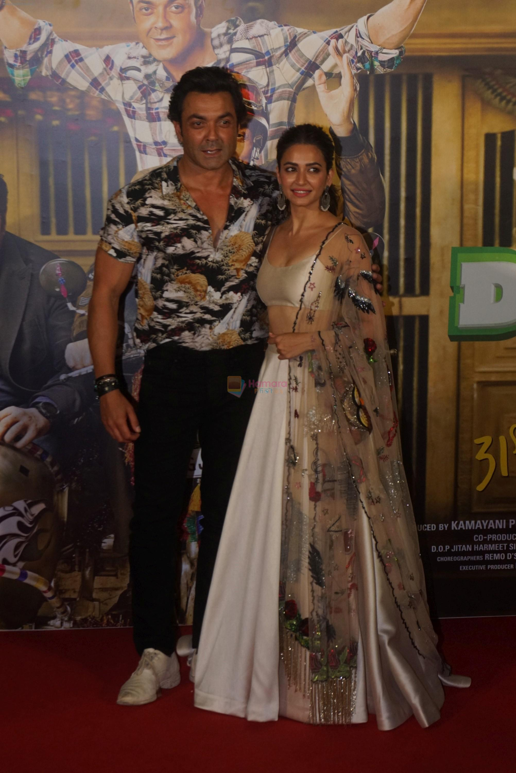 Kriti Kharbanda at the Trailer Launch Of Hindi Film Yamla Pagla Deewana Yamla Pagla Deewana Phir Se on 9th Aug 2018