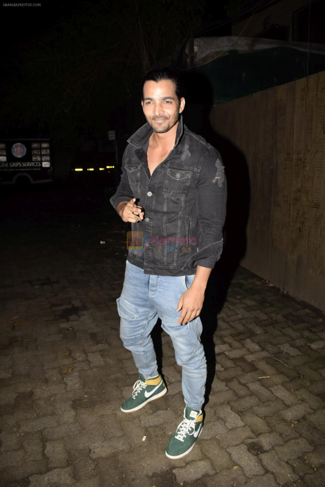 Harshvardhan Rane at the Screening of Satyamev Jayate in sunny super sound, juhu on 11th Aug 2018