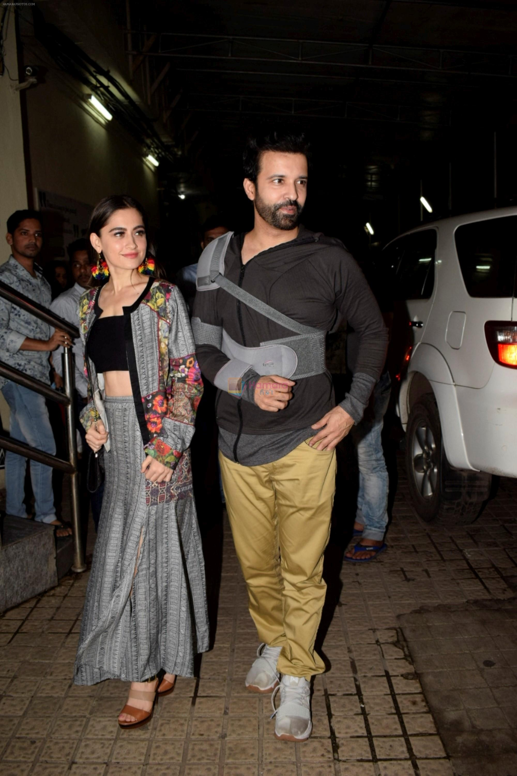Aamir Ali, Sanjeeda Sheikh at the Screening of Gold in pvr juhu on 14th Aug 2018