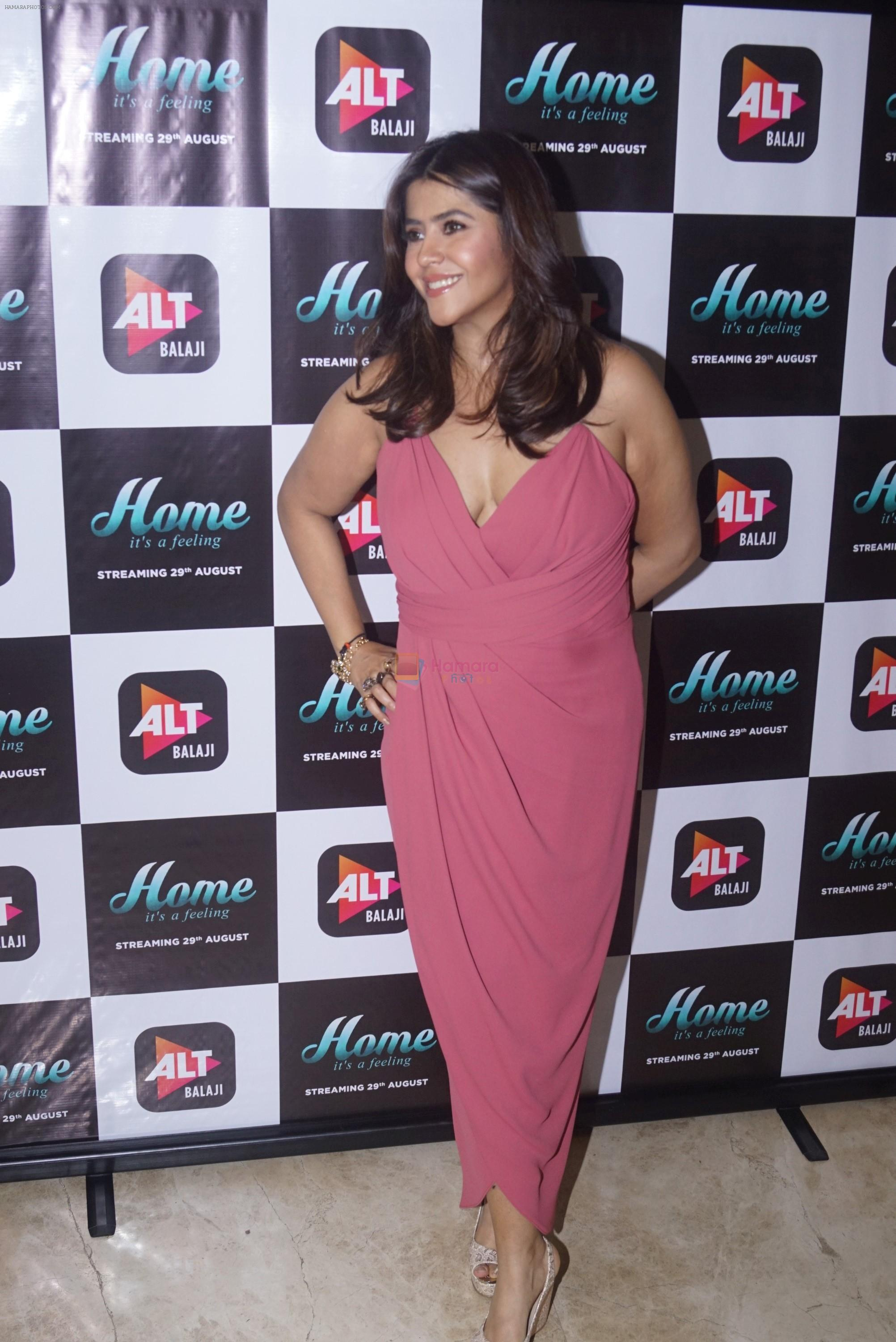 Ekta Kapoor at the Trailer Launch Of Upcoming Alt Balaji's Web Series Home on 15th Aug 2018