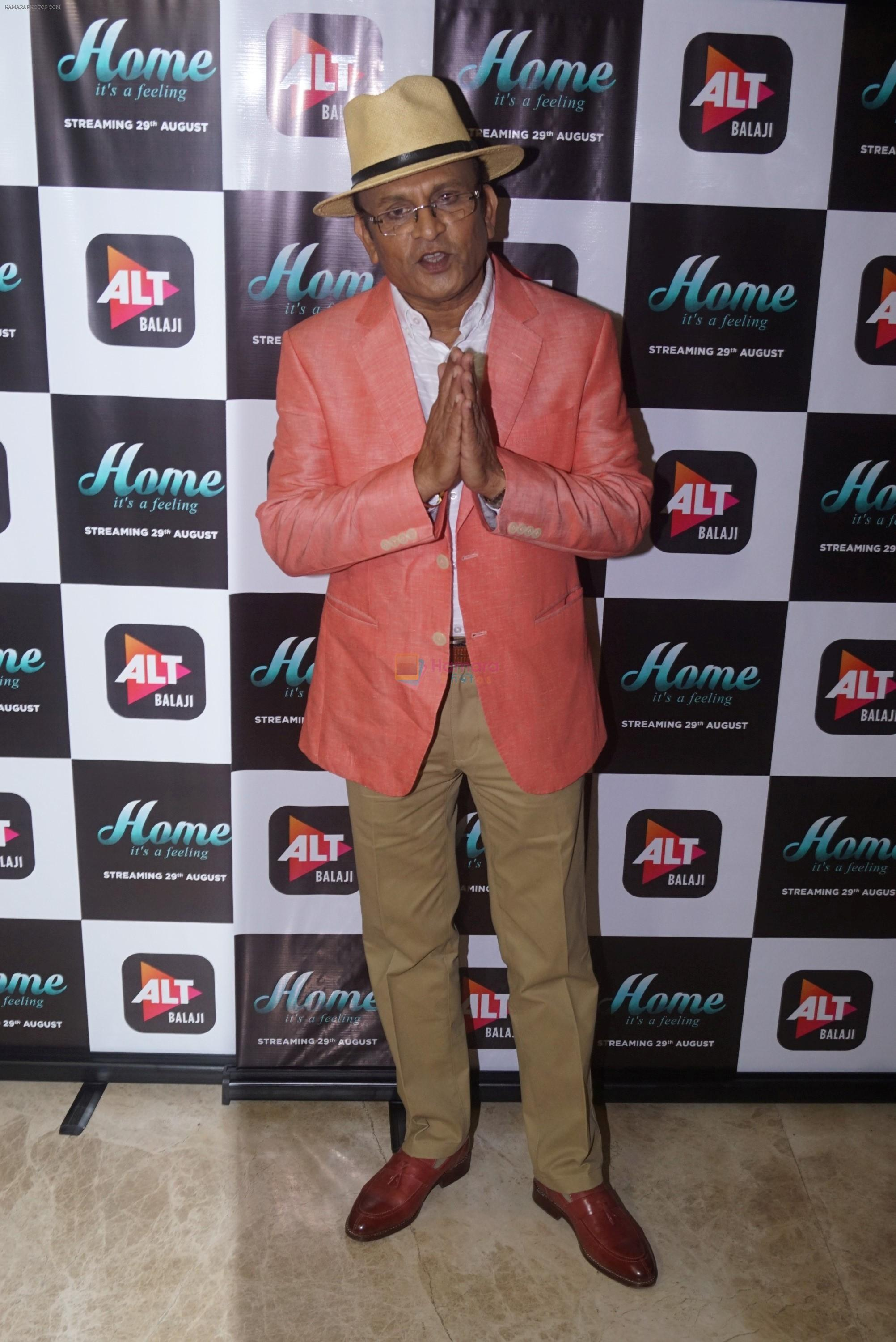 Annu Kapoor at the Trailer Launch Of Upcoming Alt Balaji's Web Series Home on 15th Aug 2018