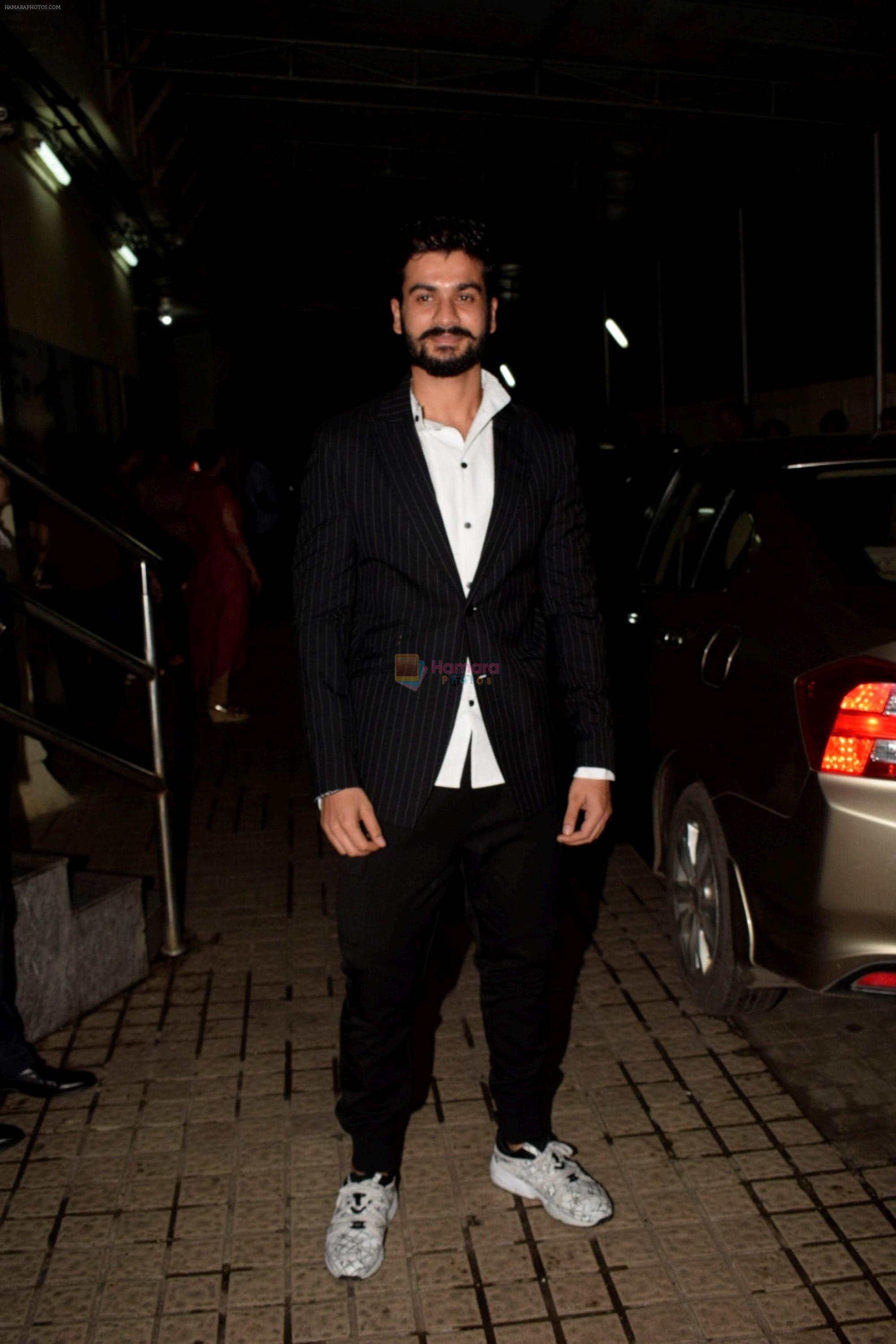 Sunny Kaushal at the Screening of Gold in pvr juhu on 14th Aug 2018