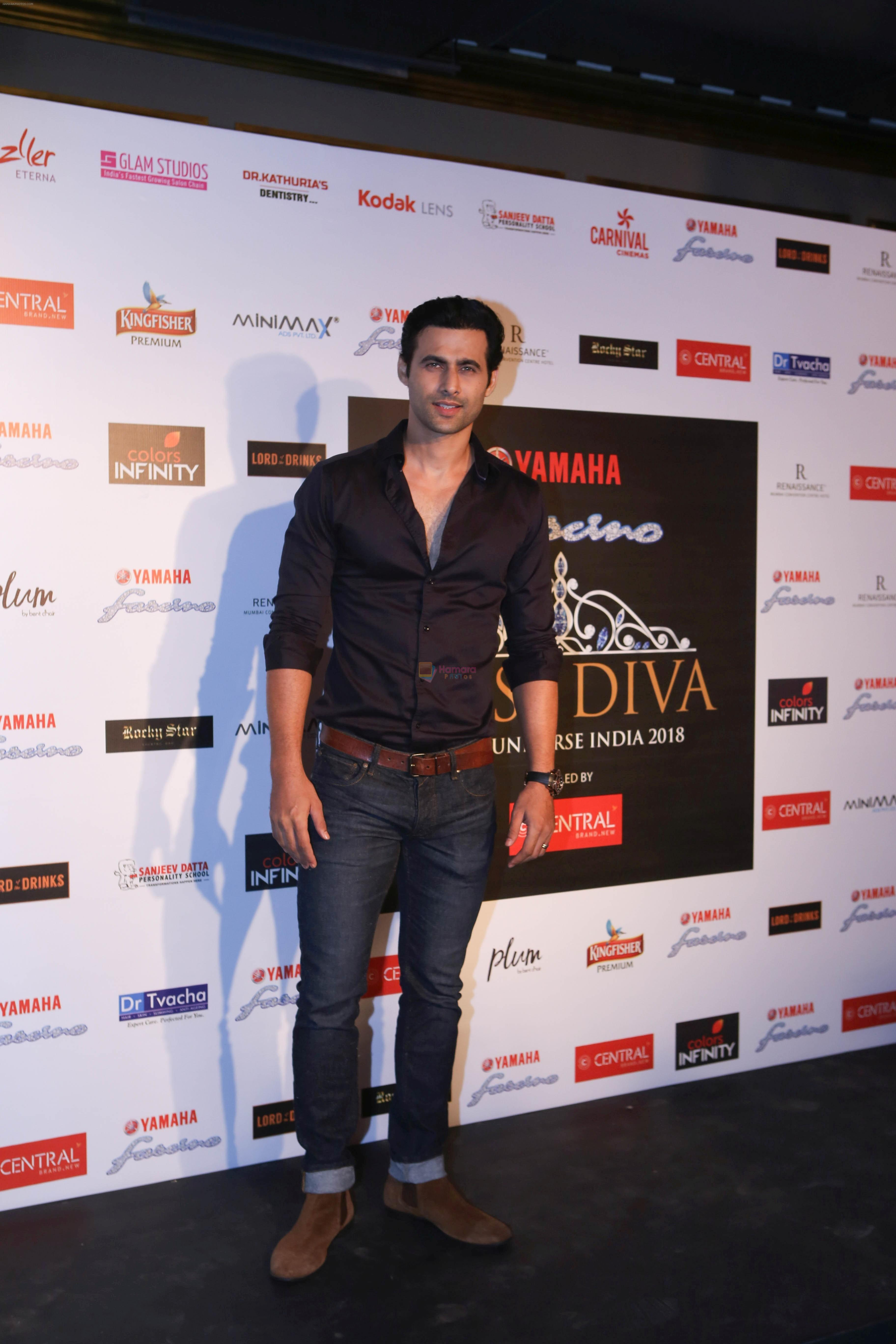 Freddy Daruwala at Miss Diva 2018 subcontest at Lord of Drinks in lower parel on 24th Aug 2018