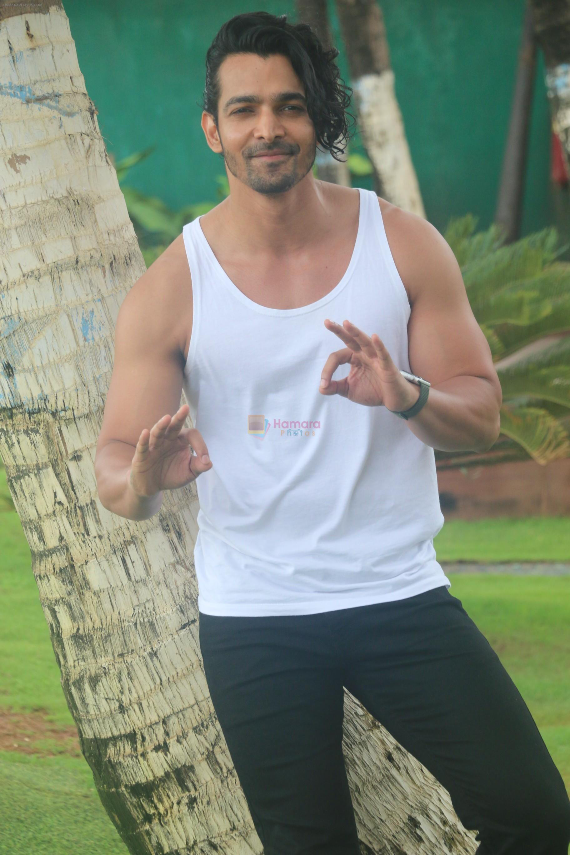 Harshvardhan Rane at the promotion of film Paltan in Novotel juhu on 23rd Aug 2018