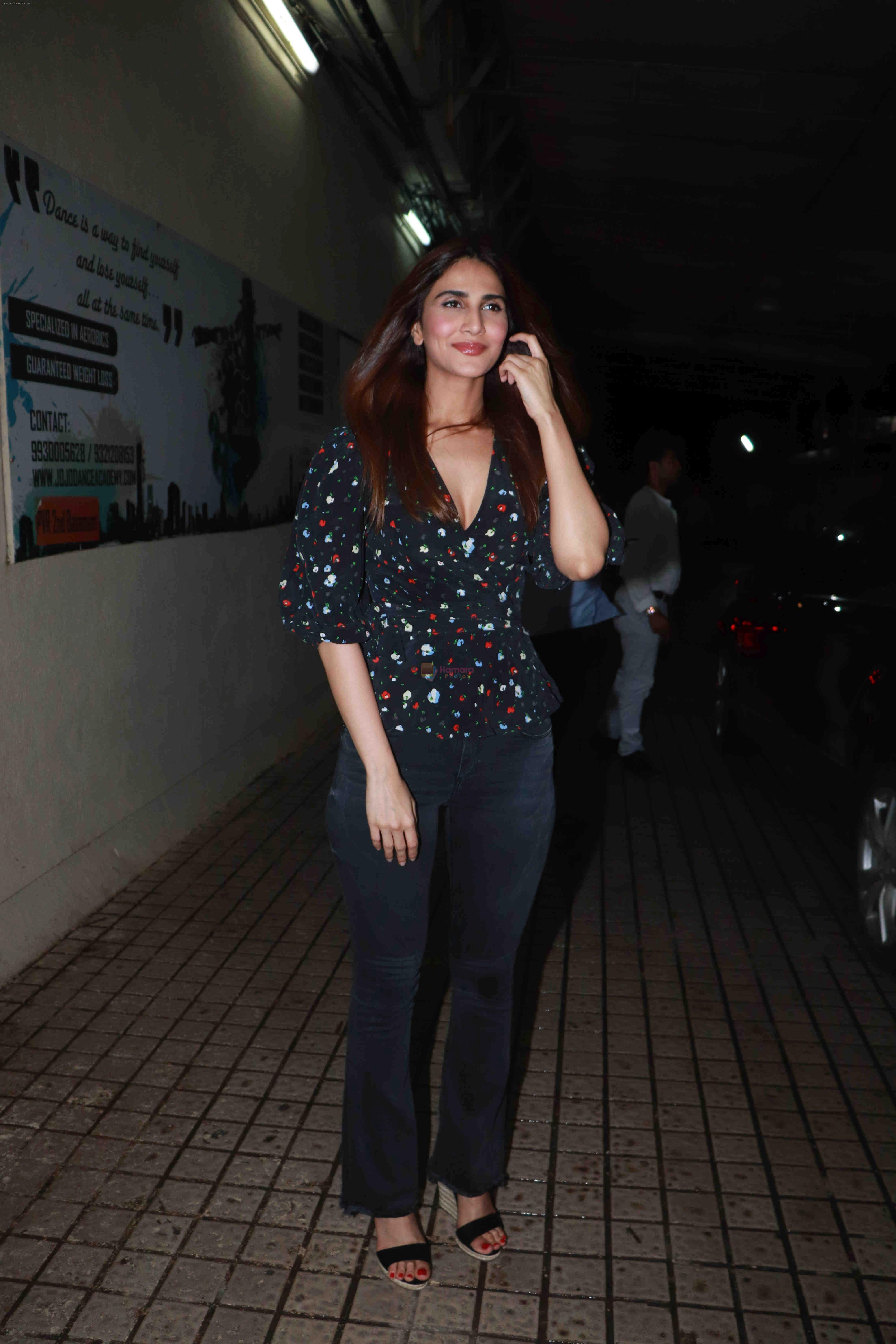 Vaani Kapoor at the Screening of film Stree in pvr juhu on 30th Aug 2018