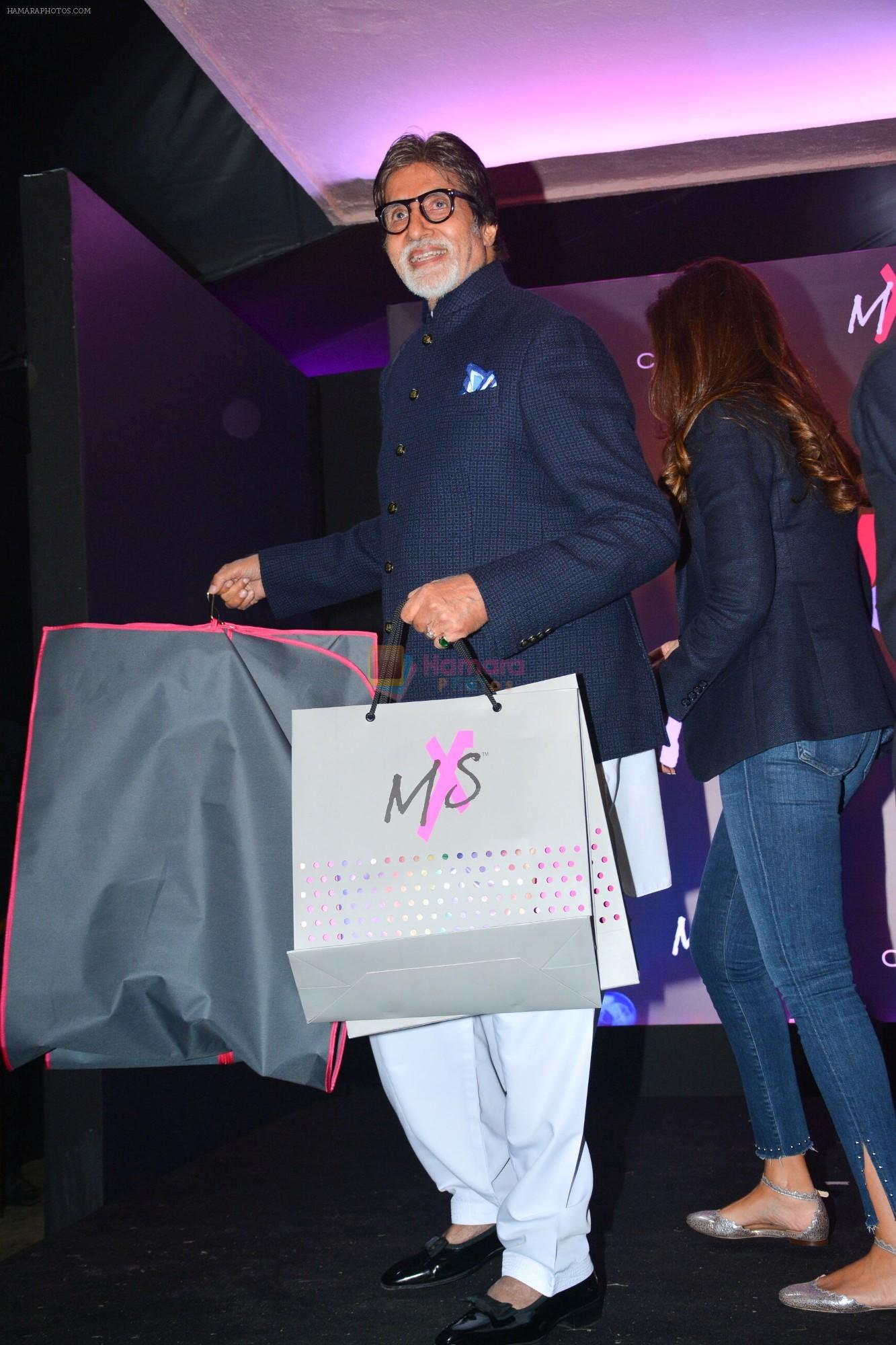 Amitabh Bachchan at Launch Of Shweta Bachchan & Monisha Jaising's Fashion Label MXS in Bandra on 1st Sept 2018