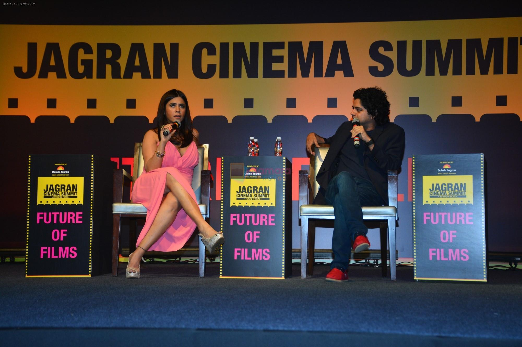Ekta Kapoor at Jagran Film Festival in the Taj Santacruz on 21st Sept 2018