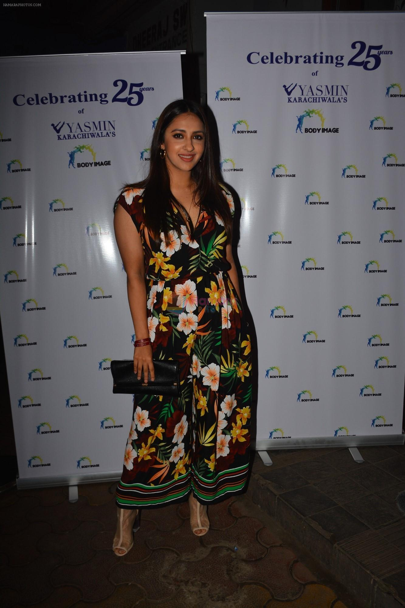 Akansha ranjan at the celebration of Yasmin Karachiwala's 25years in Fitness Training At Bandra on 23rd Sept 2018