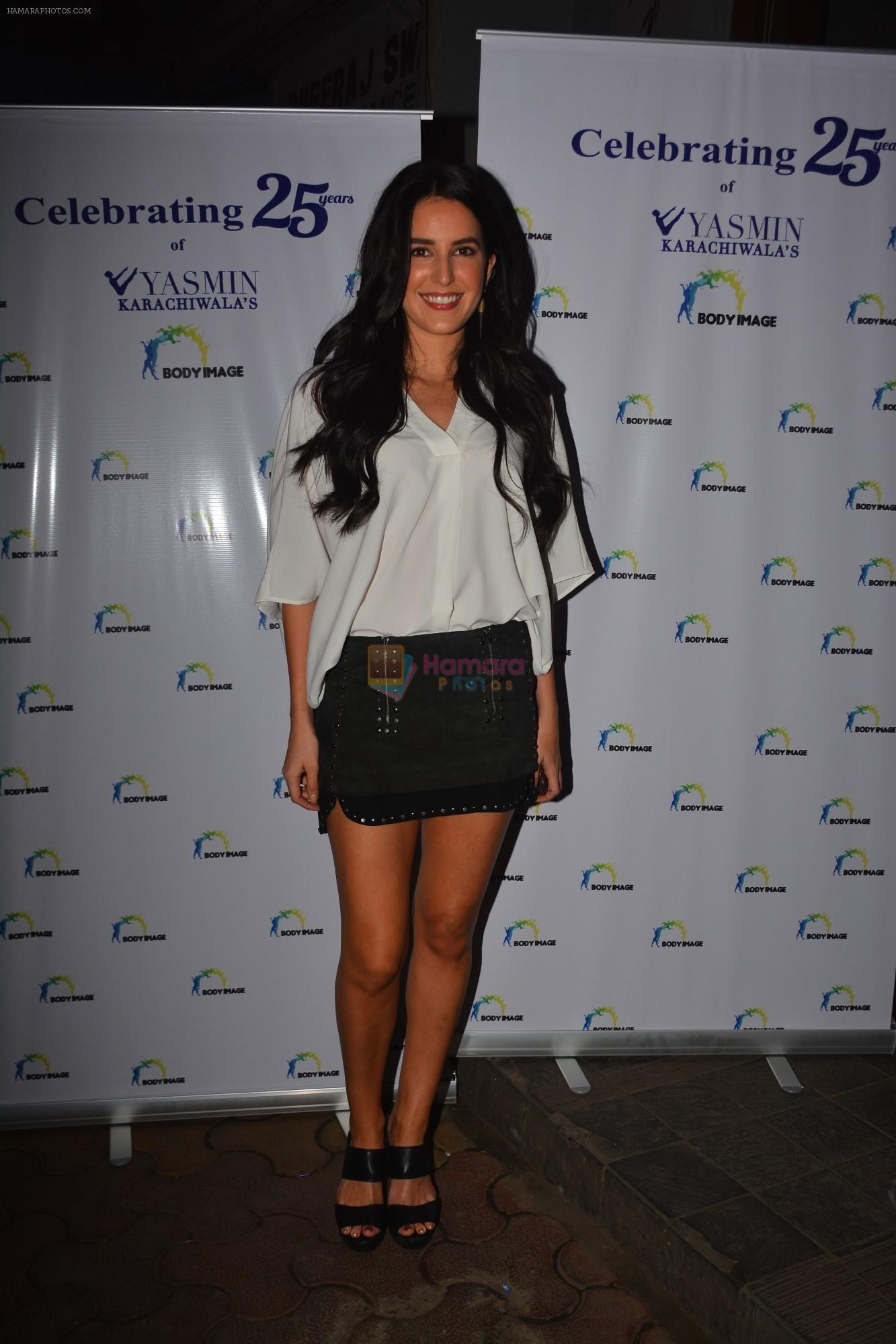 Isabelle Kaif at the celebration of Yasmin Karachiwala's 25years in Fitness Training At Bandra on 23rd Sept 2018