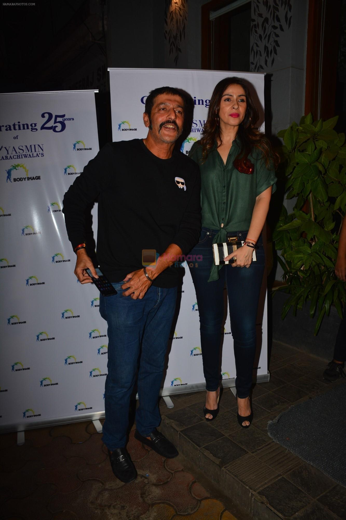 Chunky Pandey at the celebration of Yasmin Karachiwala's 25years in Fitness Training At Bandra on 23rd Sept 2018