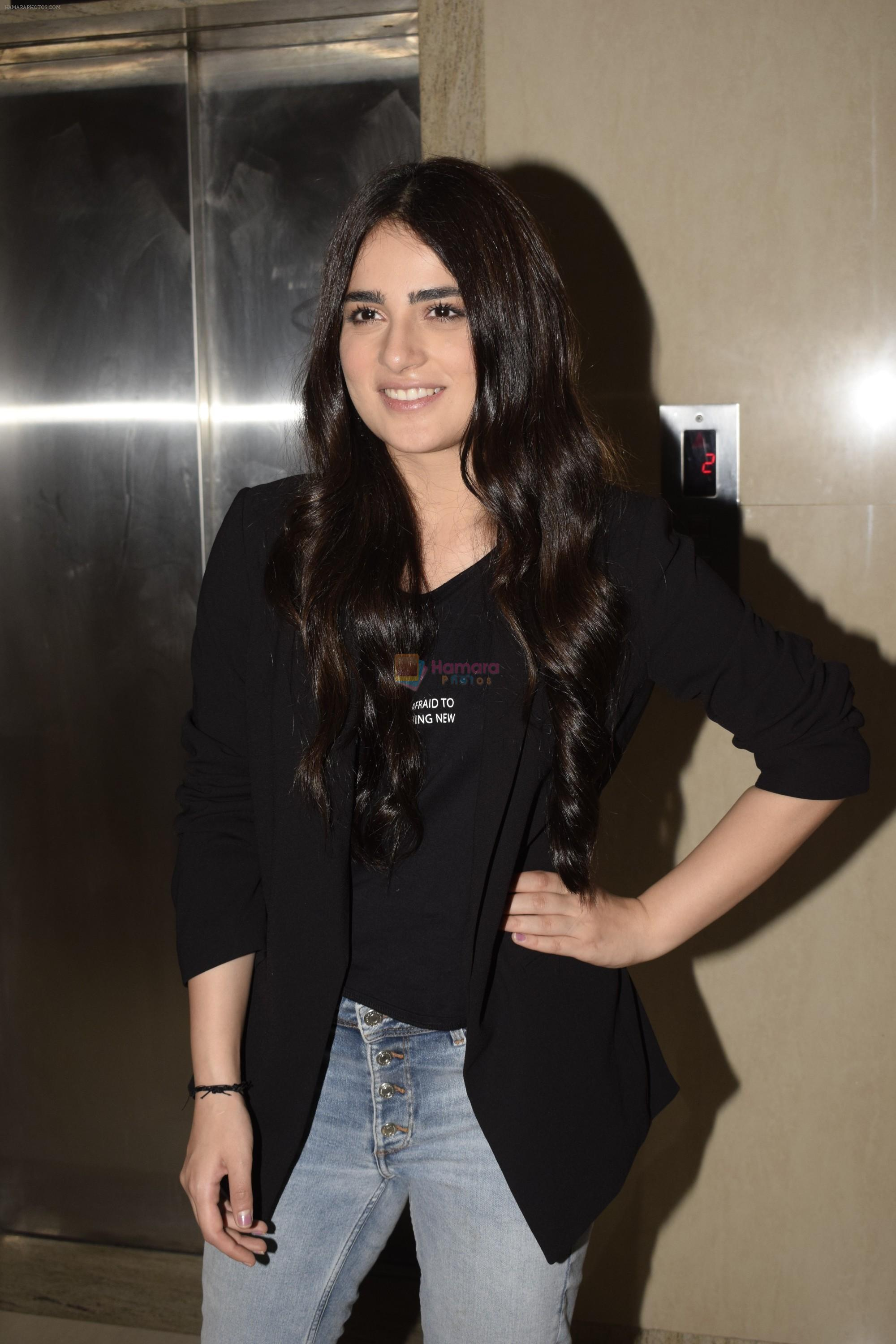 Radhika Madan at the Screening of film Pataakha at The View andheri on 25th Sept 2018