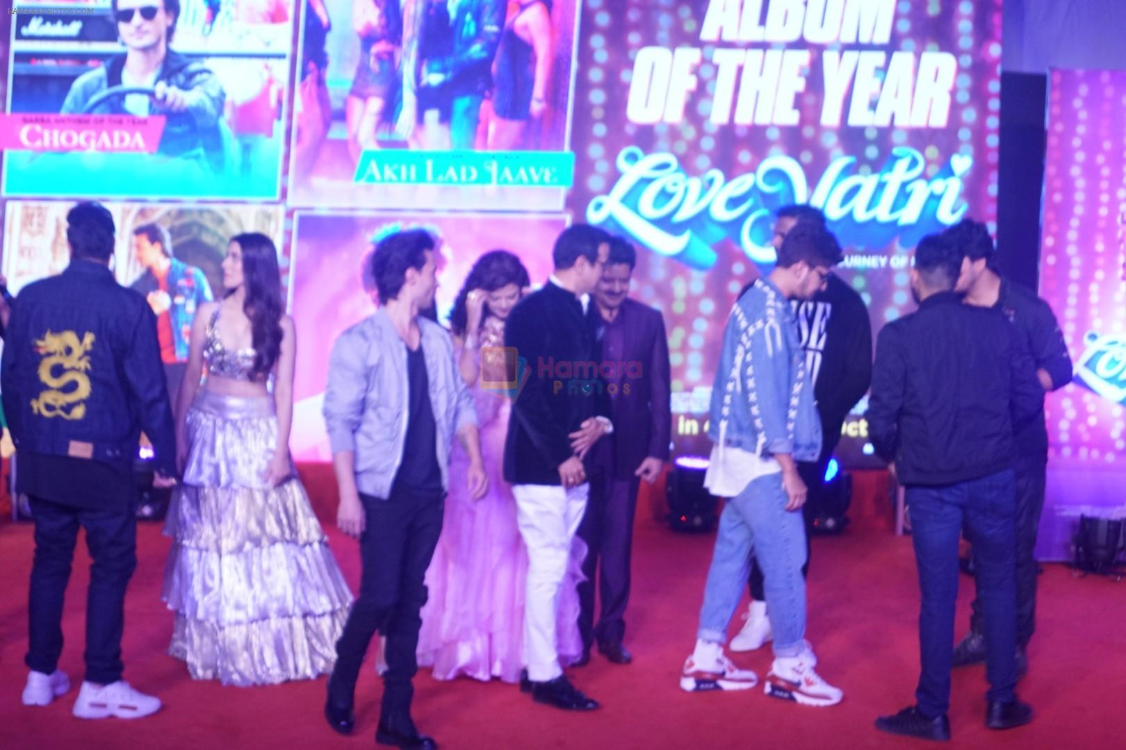 Palak Muchhal, Udit Narayan, Aayush Sharma, Warina Hussain, Ronit Roy at Musical Concert Celebrating the journey of Loveyatri on 26th Sept 2018