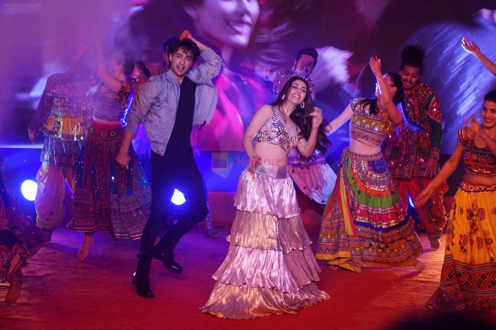 Aayush Sharma, Warina Hussain at Musical Concert Celebrating the journey of Loveyatri on 26th Sept 2018