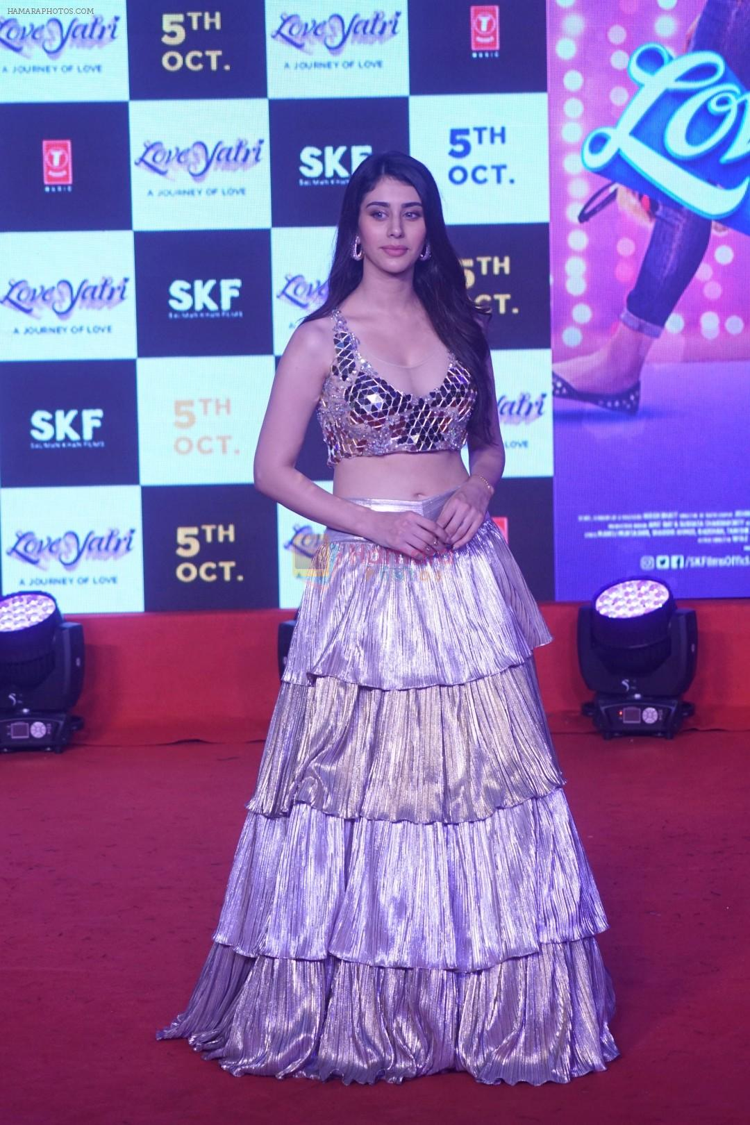 Warina Hussain at Musical Concert Celebrating the journey of Loveyatri on 26th Sept 2018