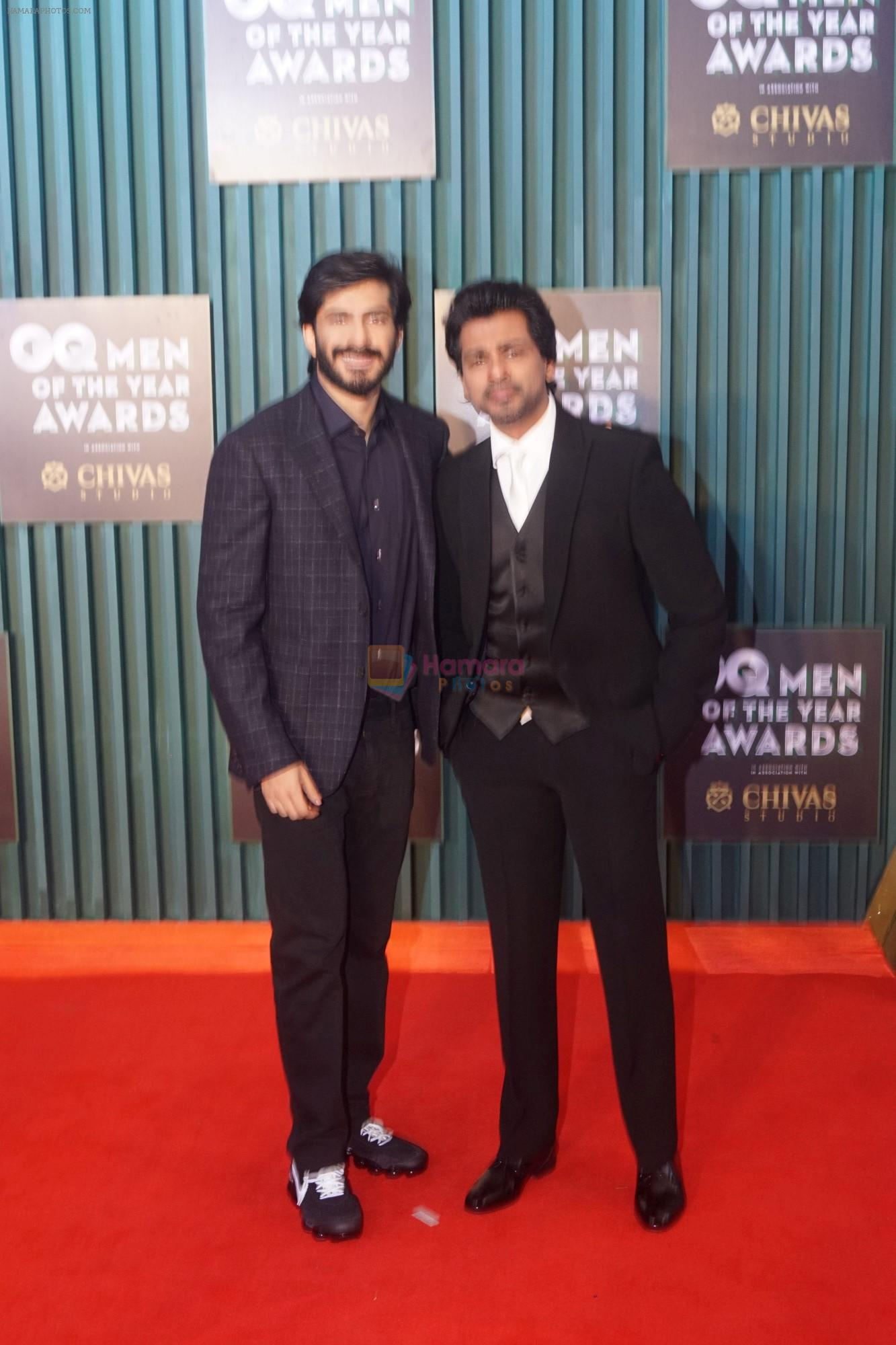 Harshvardhan Kapoor, Nikhil Dwivedi at GQ Men of the Year Awards 2018 on 27th Sept 2018
