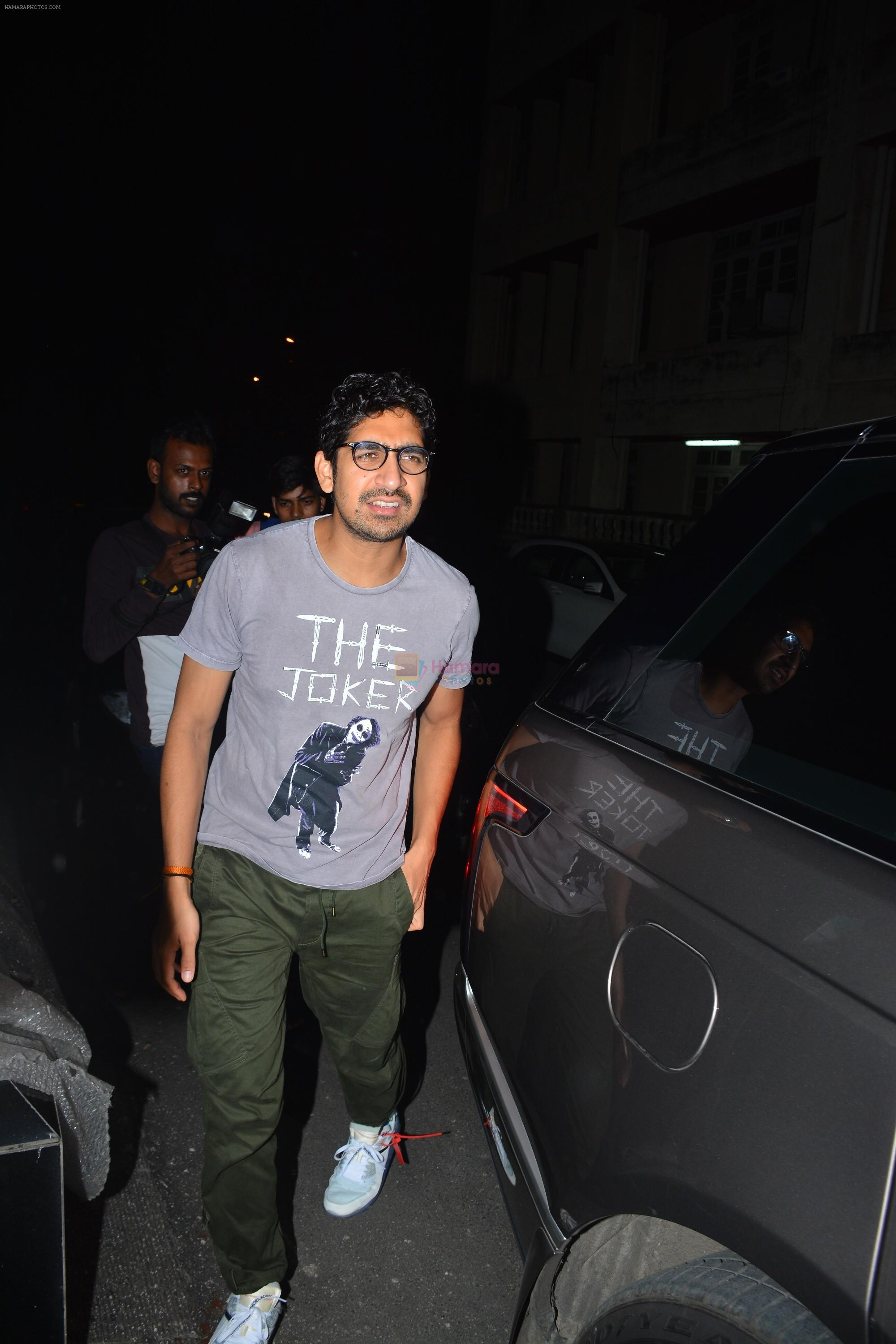 Ayan Mukherjee spotted at Aamir Khan's house in bandra on 2nd Oct 2018