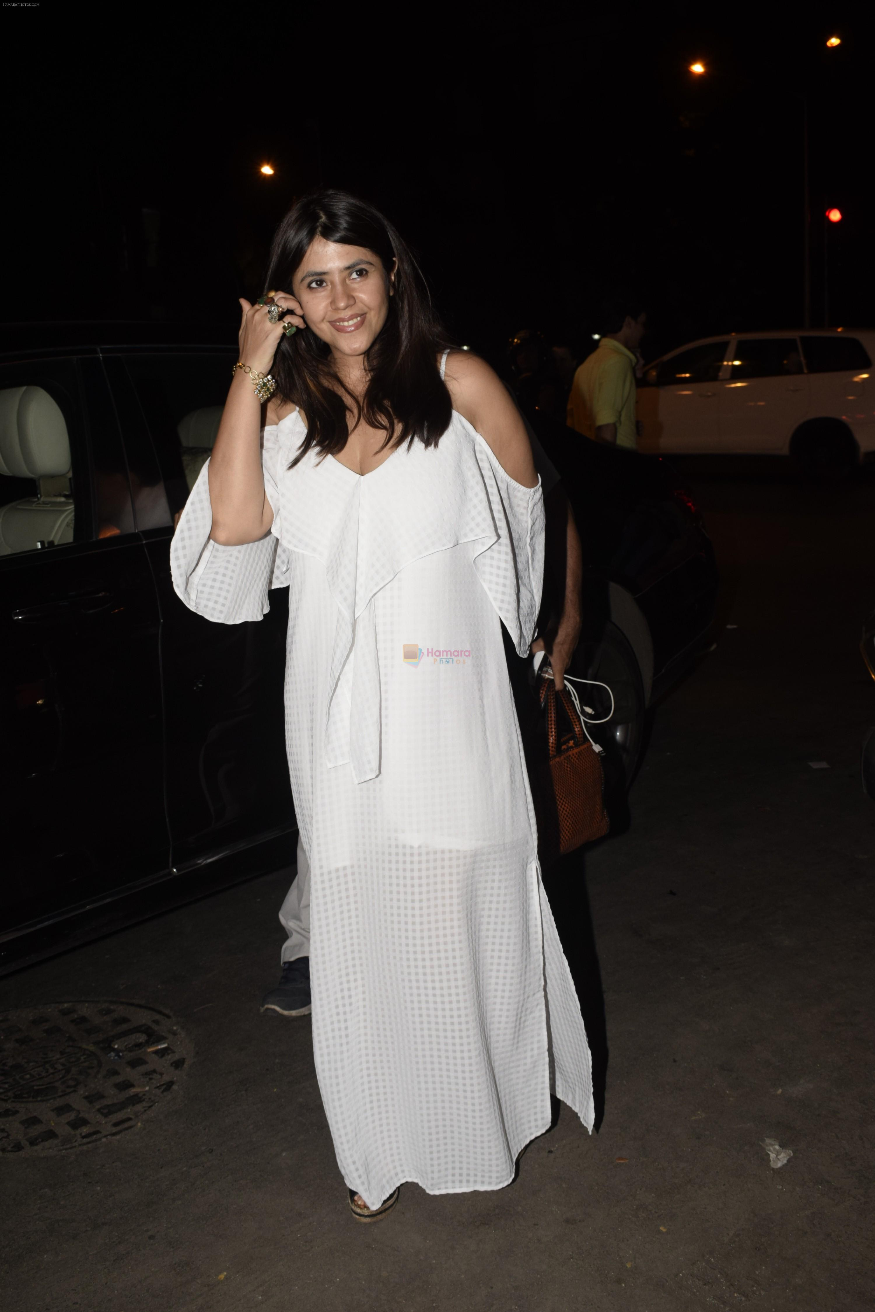 Ekta Kapoor spotted at Bastian bandra on 11th Oct 2018