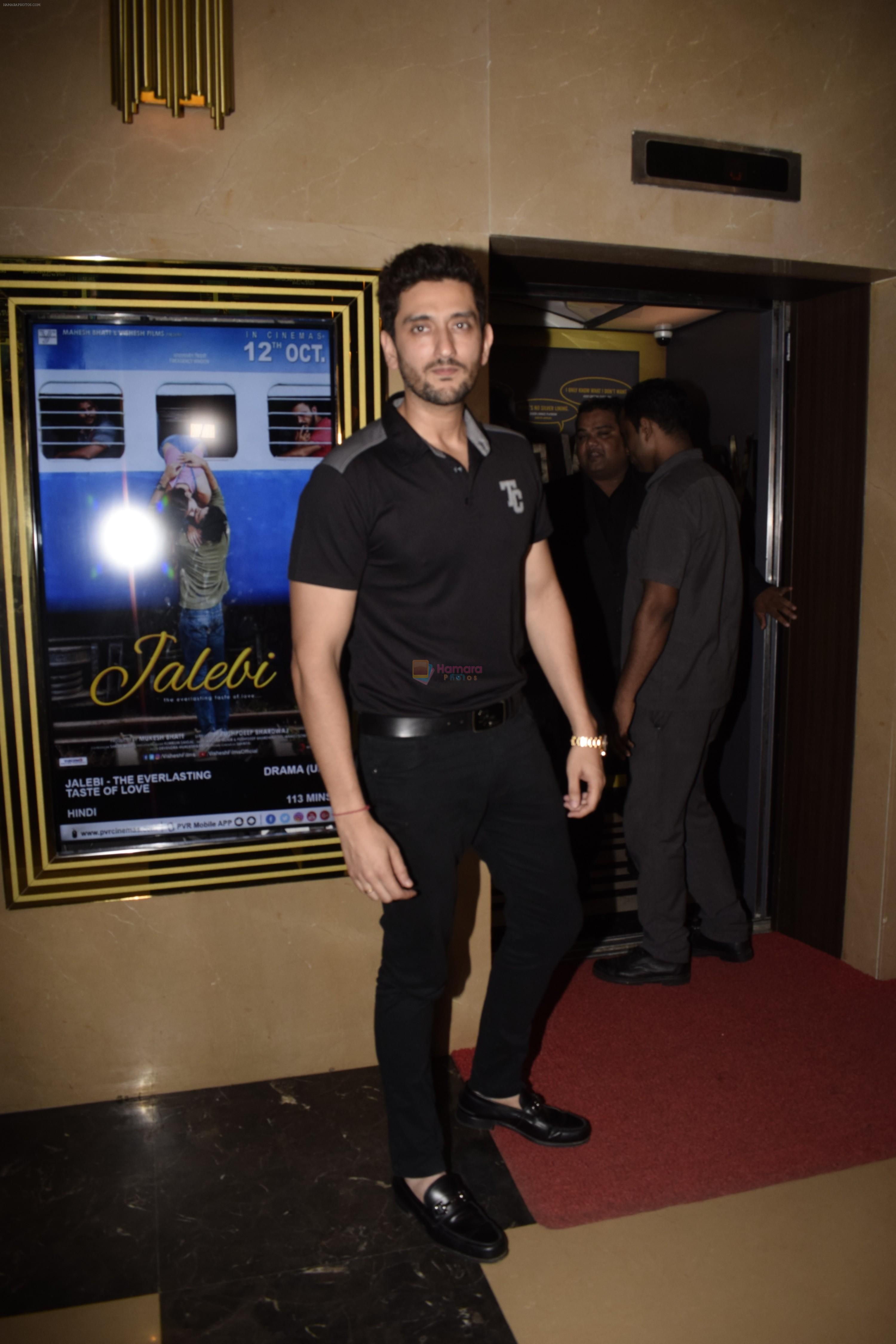 Shaad Randhawa at the Screening of film Jalebi in pvr icon, andheri on 11th Oct 2018