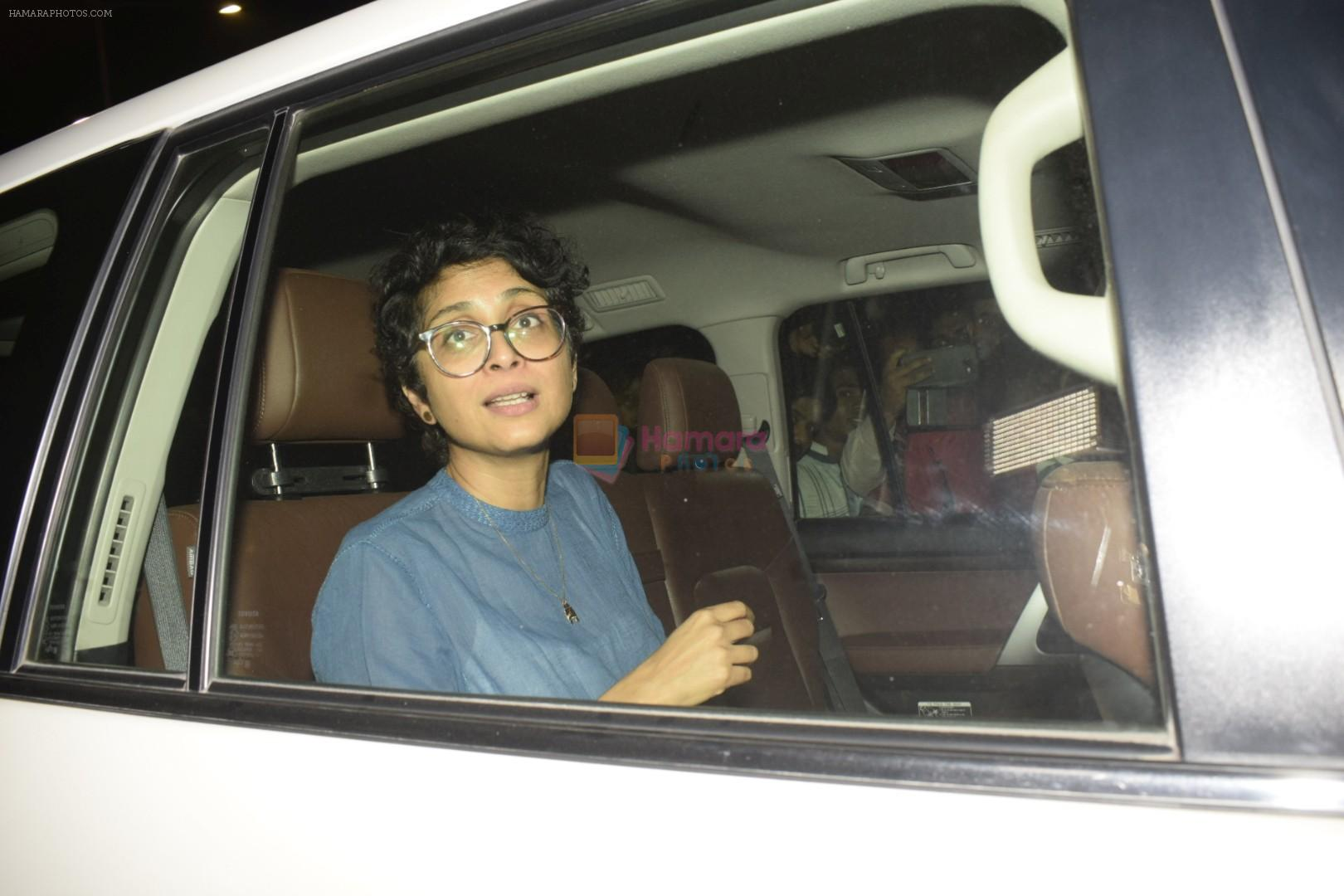 Kiran Rao at Zoya Akhtar's birthday party in bandra on 14th Oct 2018