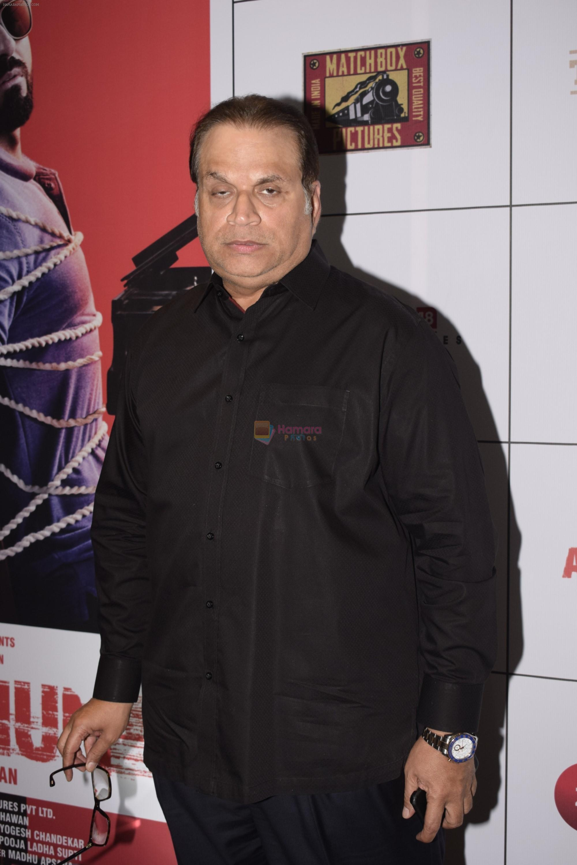 Ramesh Taurani at the Success Party of Film Andhadhun on 16th Oct 2018