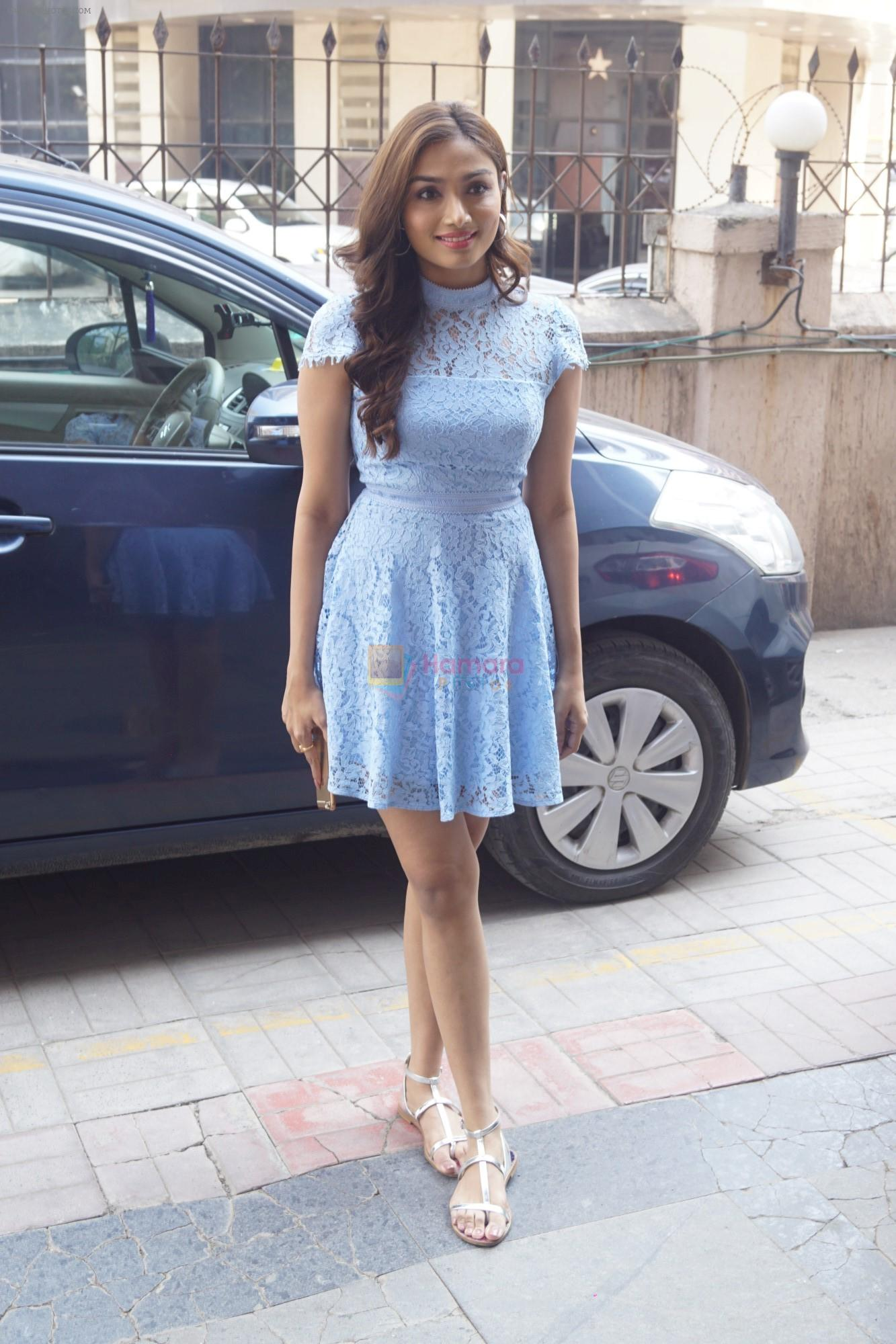 Aishwarya Devan Spotted At The Box Office India For The