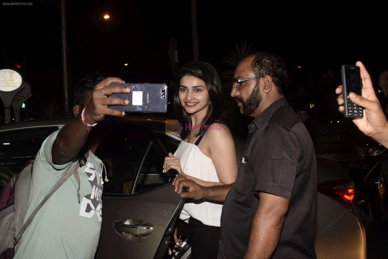 Prachi Desai Spotted At Bastian In Bandra on 21st Oct 2018