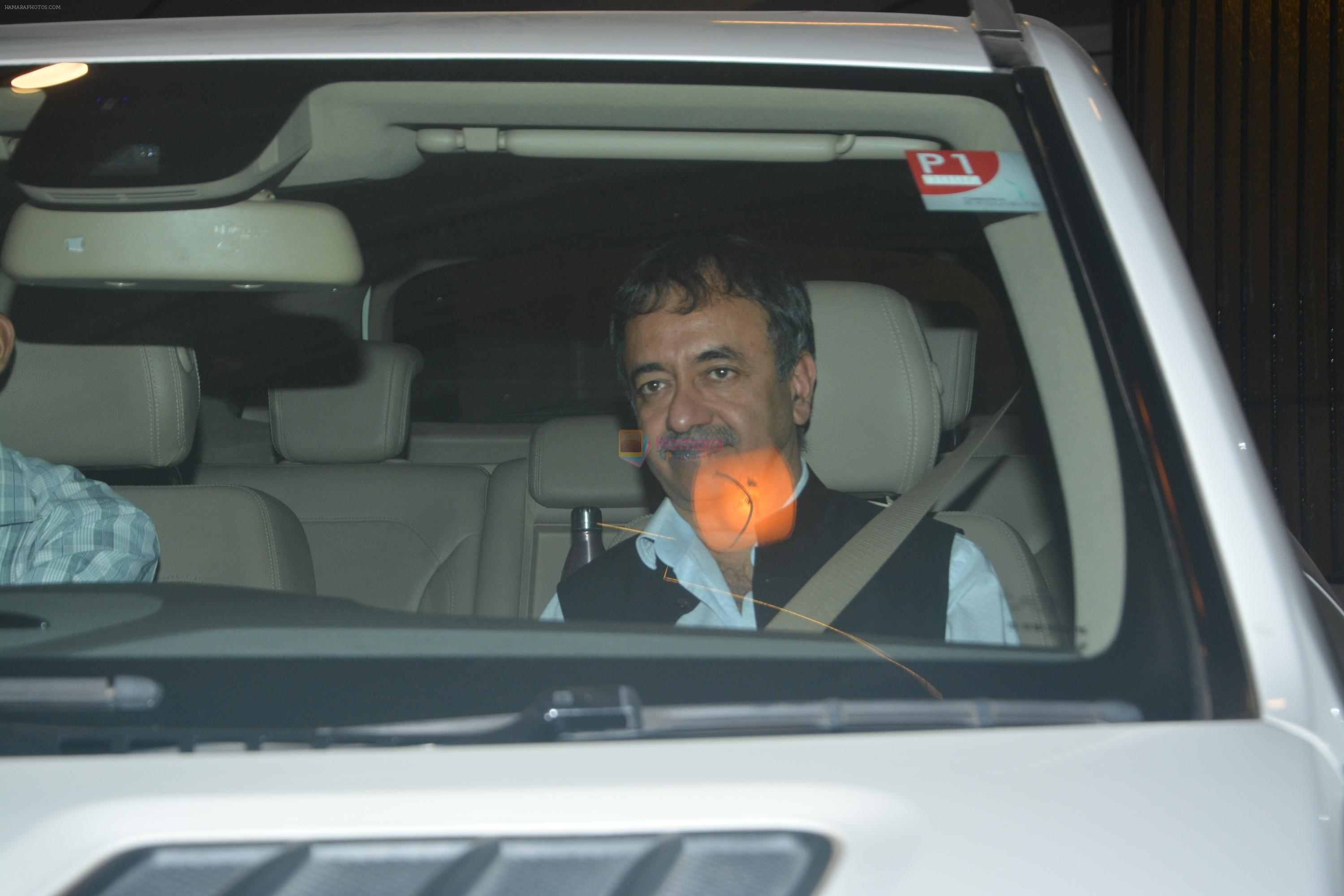 Rajkumar Hirani At Ritesh Sidhwani's House In Bandra on 22nd Oct 2018