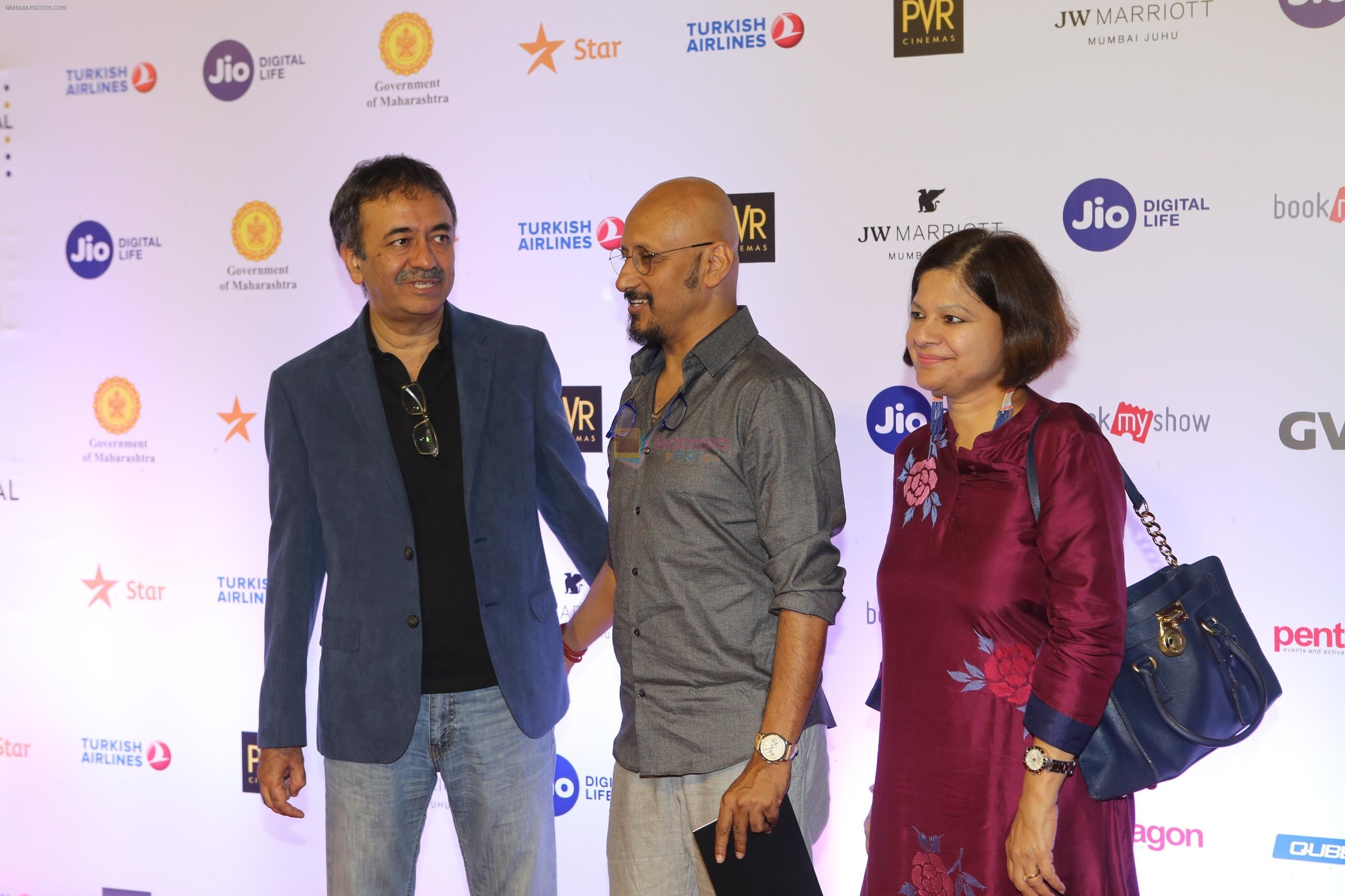 Rajkumar Hirani at the Opening ceremony of Mami film festival in Gateway of India on 25th Oct 2018