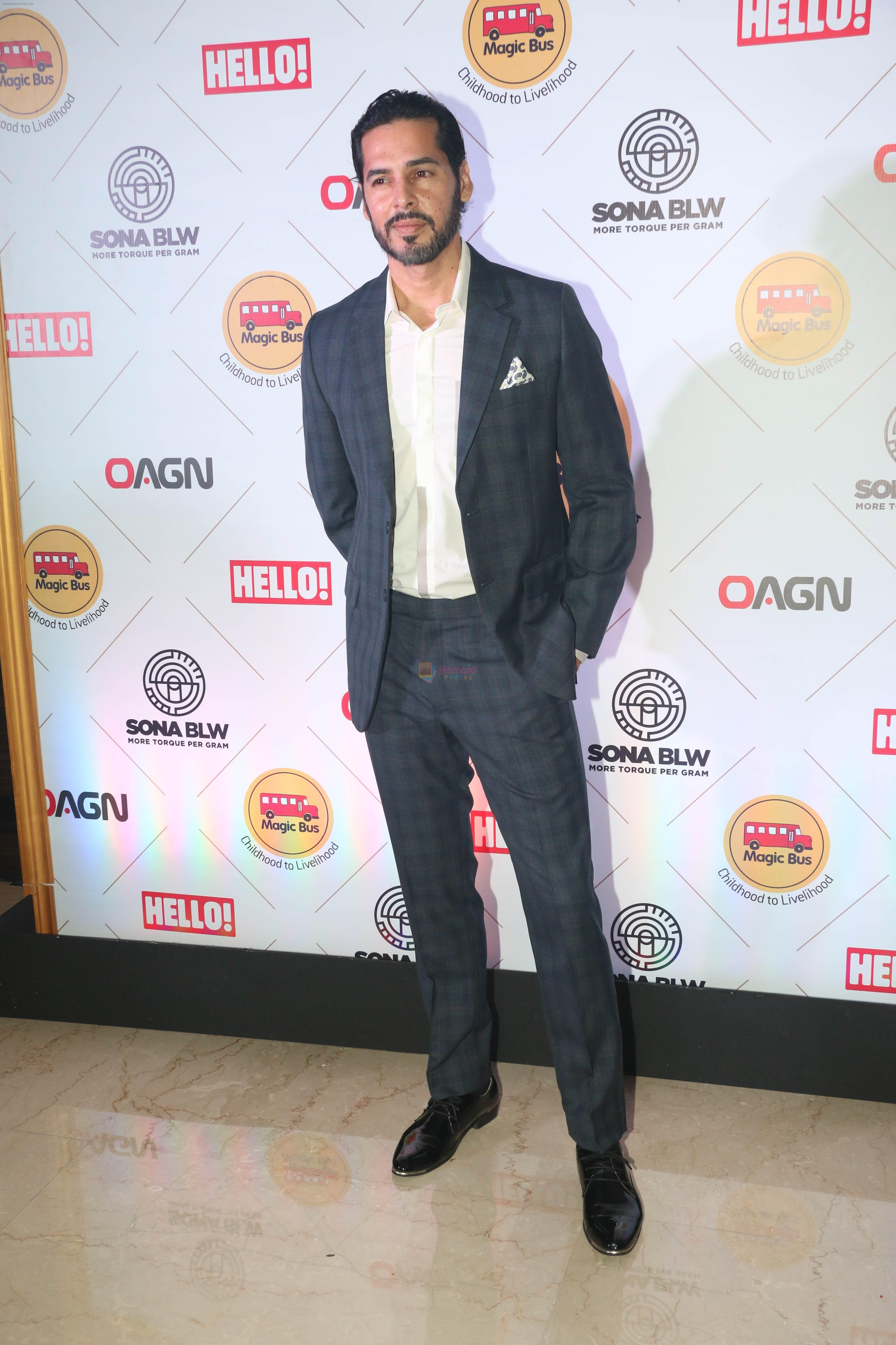 Dino Morea at the 7th edition of magic bus benefit dinner on 26th Oct 2018