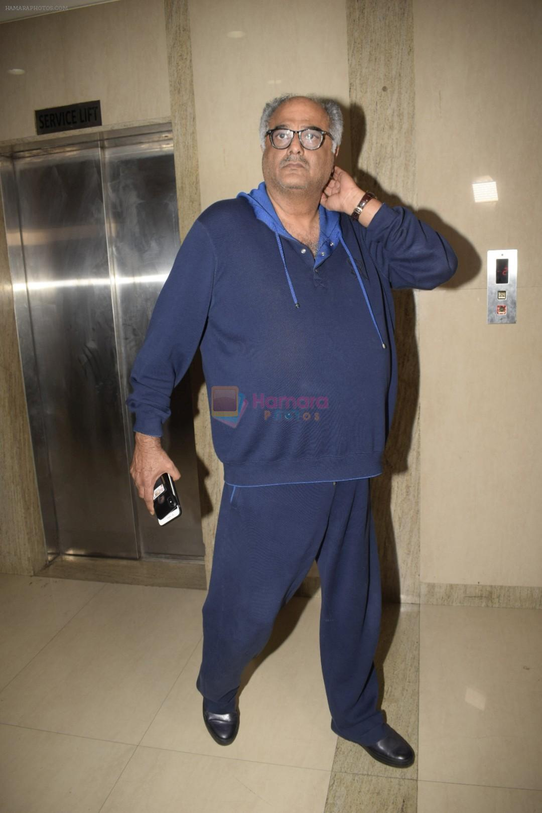 Boney Kapoor at the Screening Of Film Haat The Weekly Bazaar At The View In Andheri on 26th Oct 2018