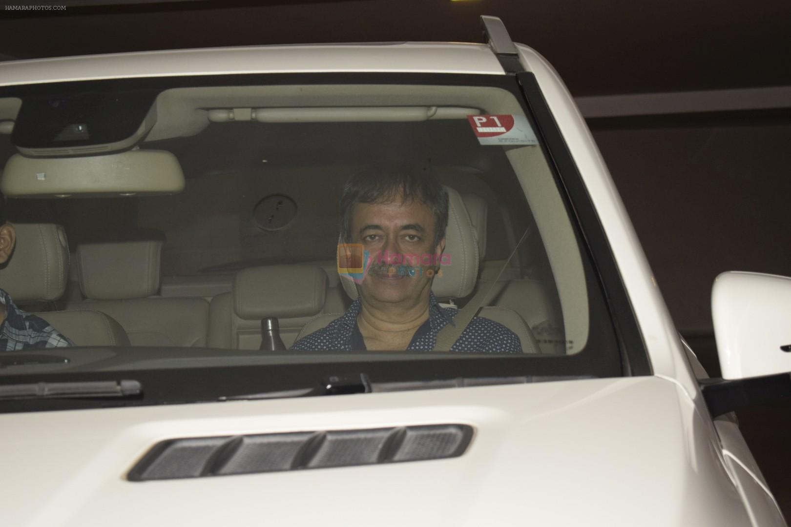 Rajkumar Hirani at Karan Johar's House Party in Bandra on 26th Oct 2018