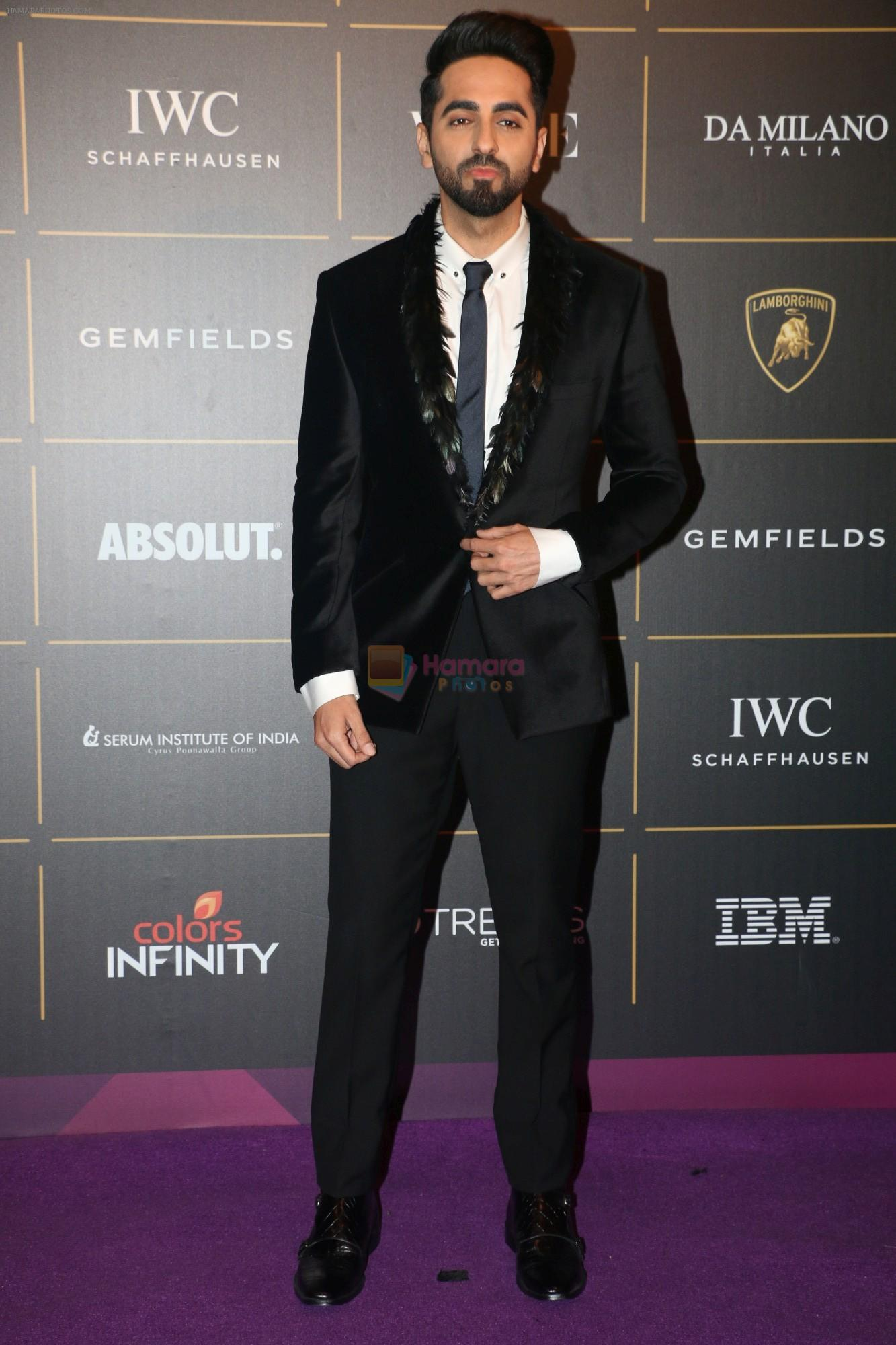 Ayushmann Khurrana at The Vogue Women Of The Year Awards 2018 on 27th Oct 2018