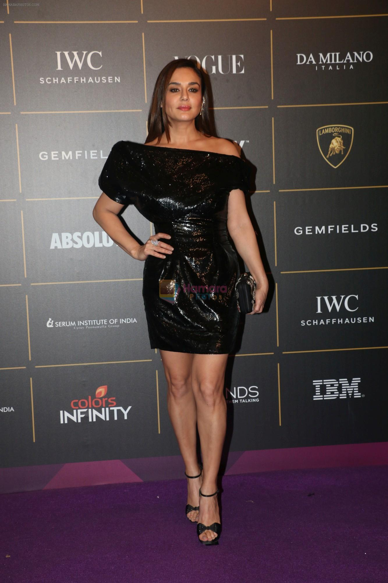 Preity Zinta at The Vogue Women Of The Year Awards 2018 on 27th Oct 2018