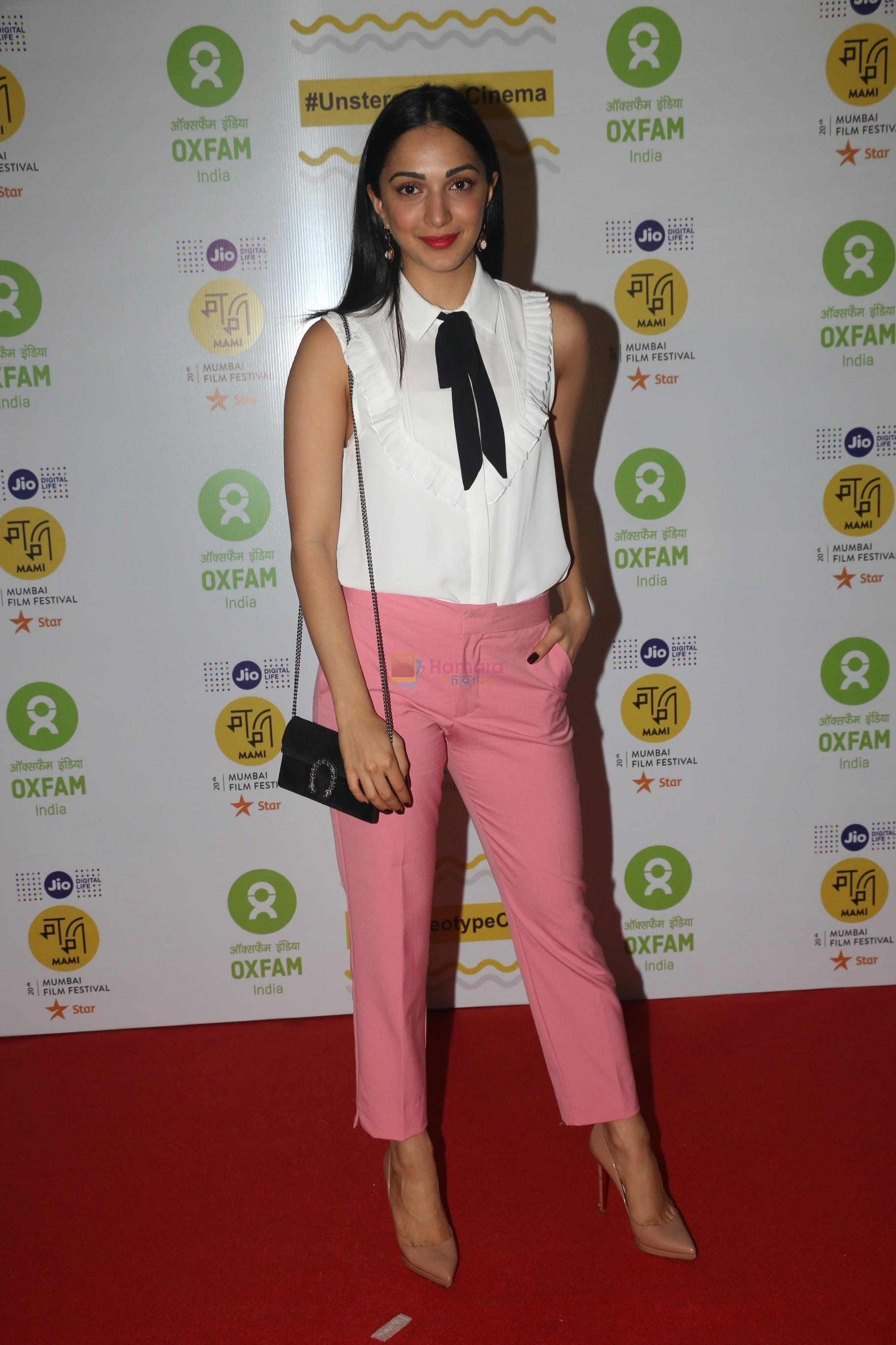Kiara Advani at the Red Carpet For Oxfam Mami Women In Film Brunch on 28th Oct 2018