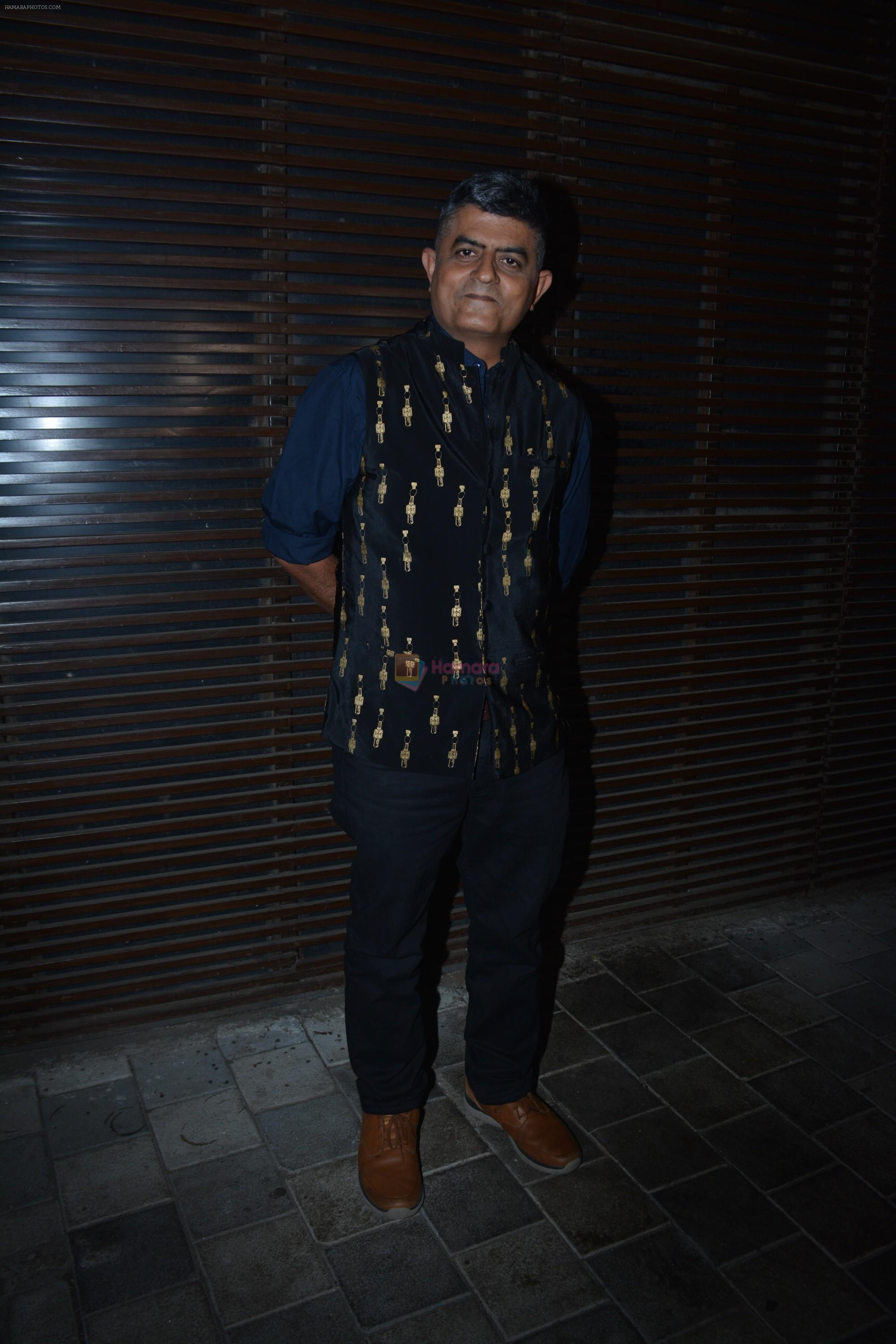 Gajraj Rao at the Success party of film Badhaai Ho in Estella juhu on 30th Oct 2018