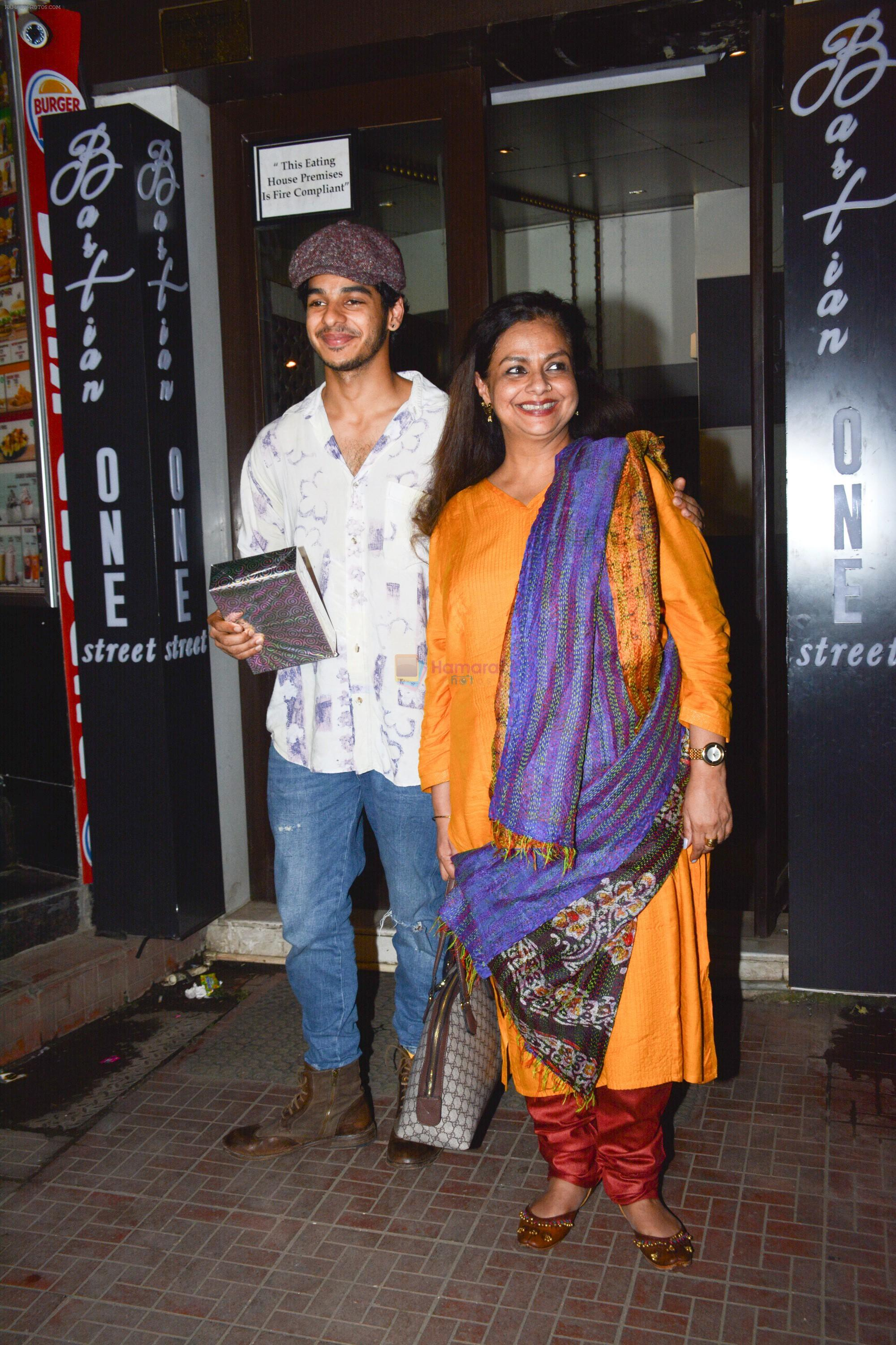 Ishaan Khattar's birthday celebration in Bastian, bandra on 31st Oct 2018