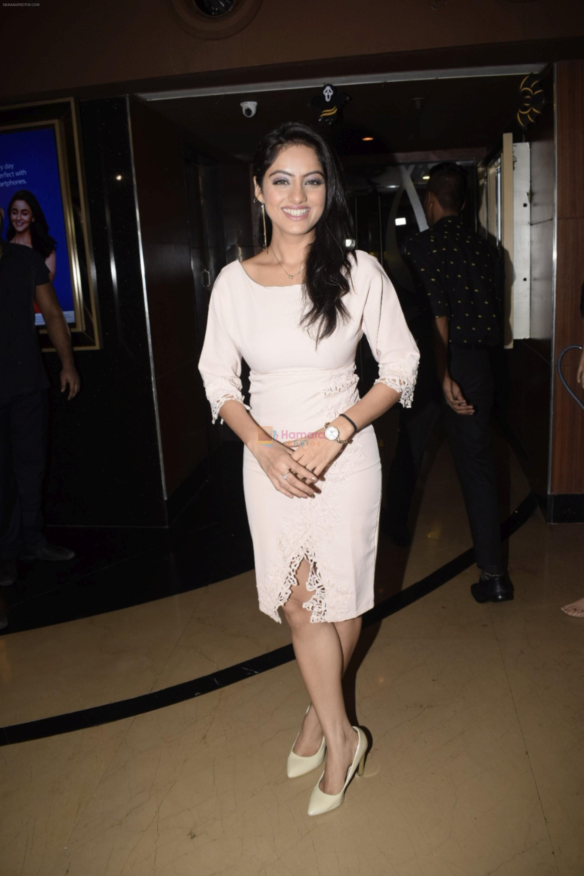 Pooja Bisht, Urvashi Rautela at Special Screening of film Ekkees Tareekh Shubh Muhrut on 1st Nov 2018