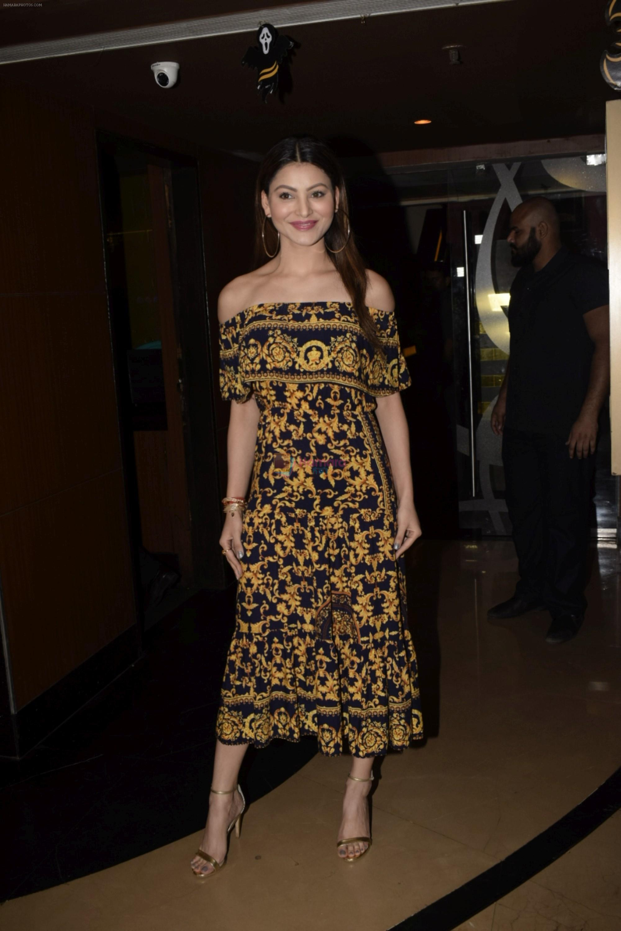 Urvashi Rautela at Special Screening of film Ekkees Tareekh Shubh Muhrut on 1st Nov 2018
