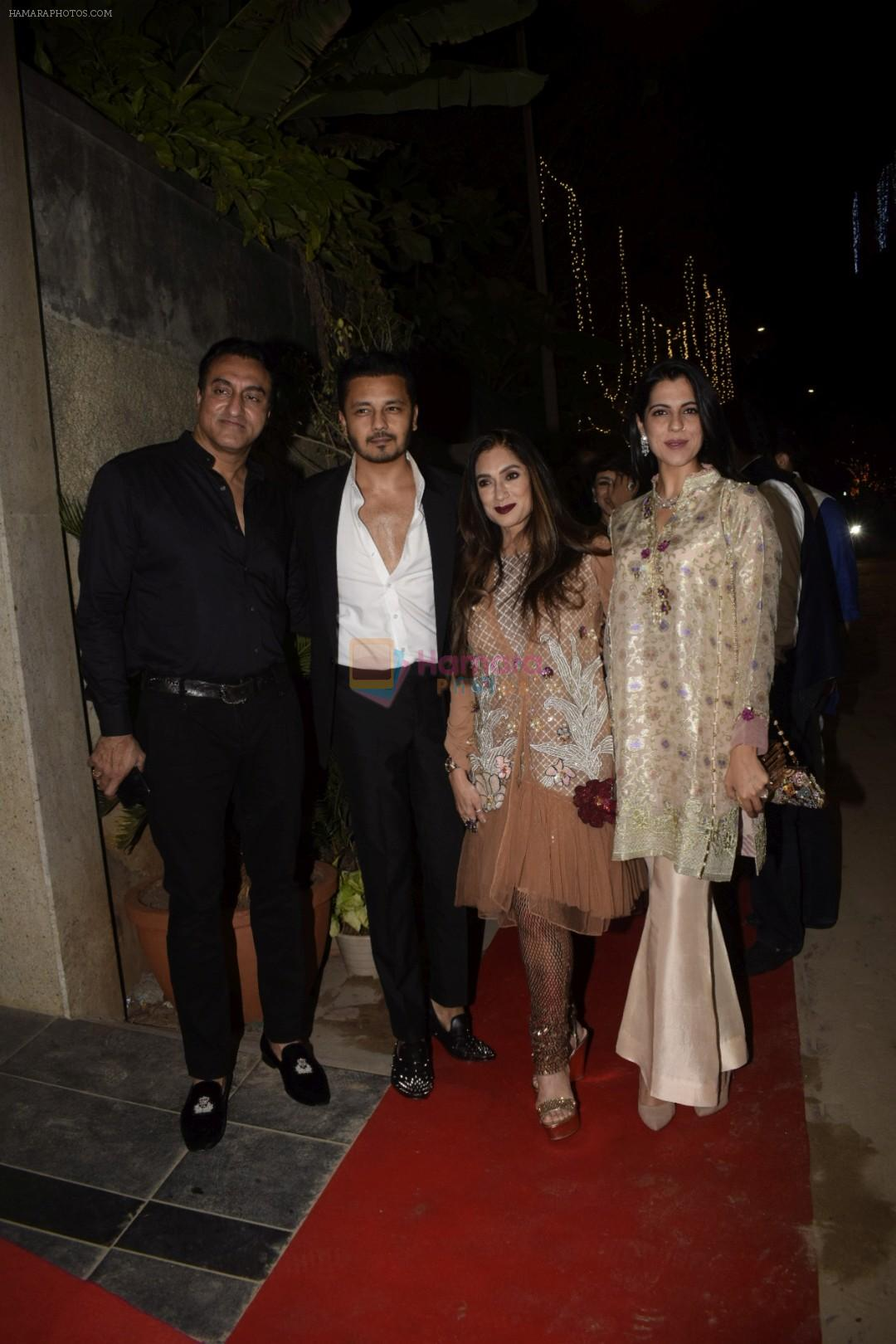 Lucky Morani, Mohammed Morani at Sushil Gupta's Diwali party in juhu on 4th Nov 2018