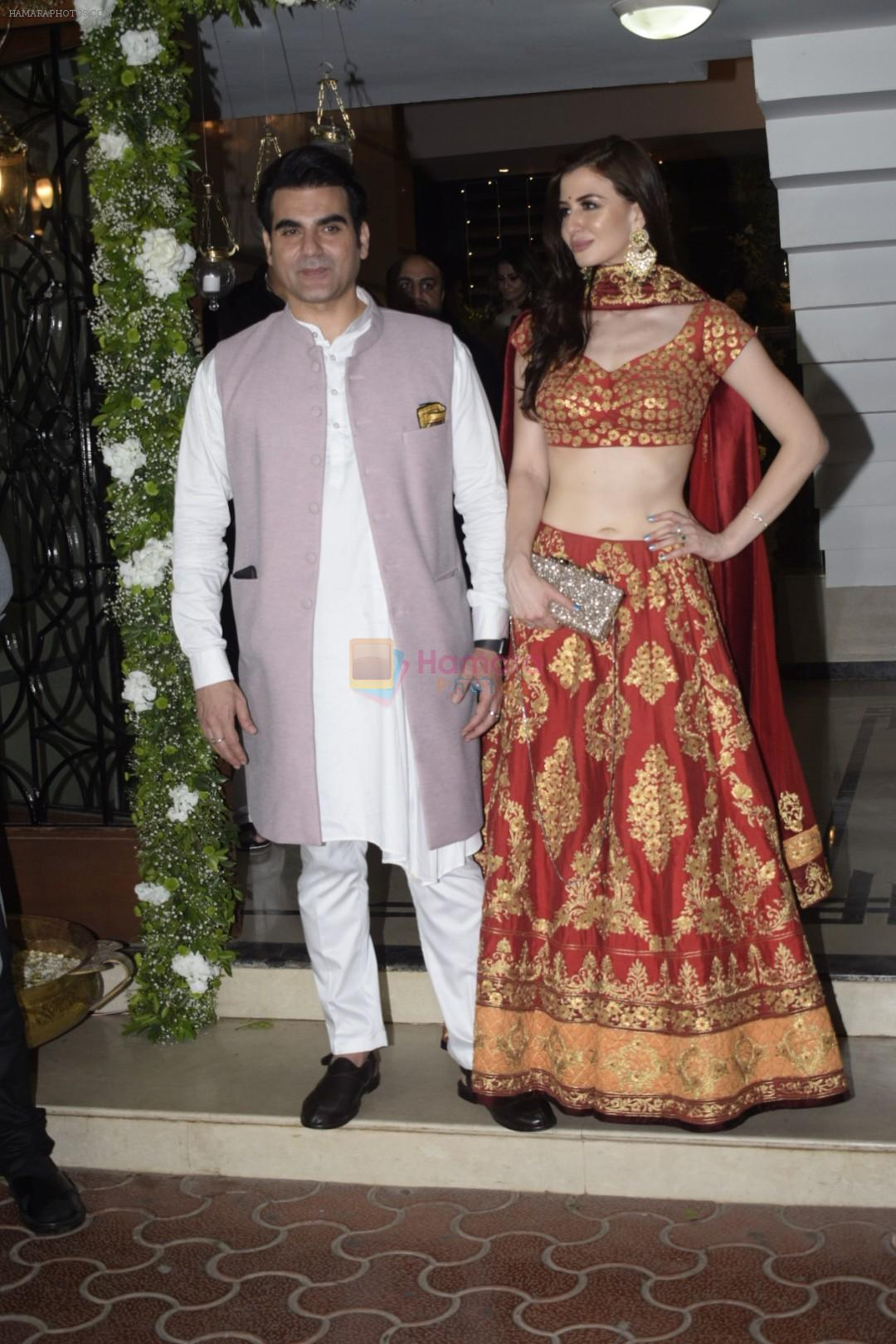 Arbaaz Khan at Shilpa Shetty's Diwali party at juhu on 4th Nov 2018