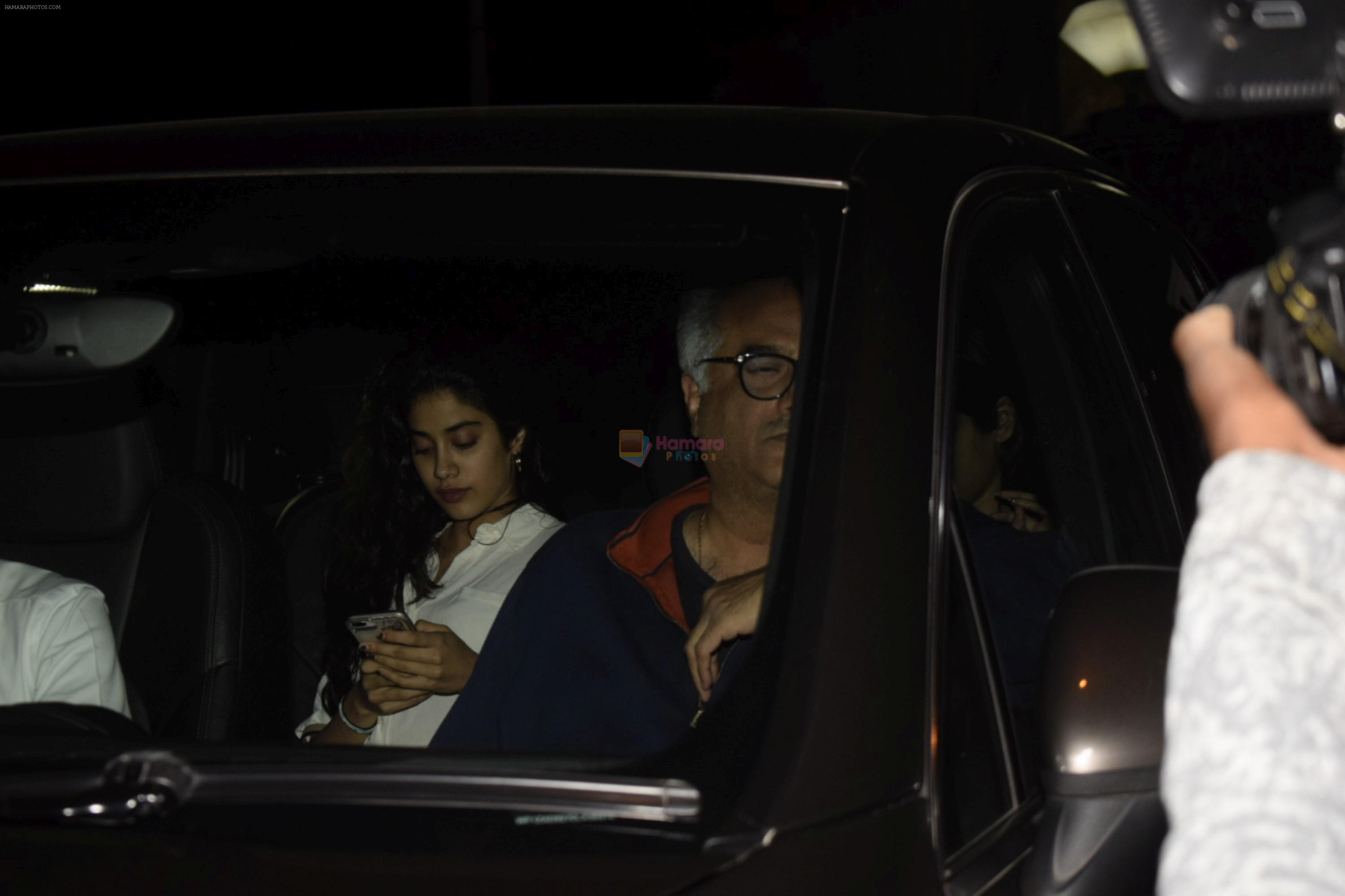 Boney Kapoor Birthday Celebrations in Arjun Kapoor's House In Juhu on 11th Nov 2018