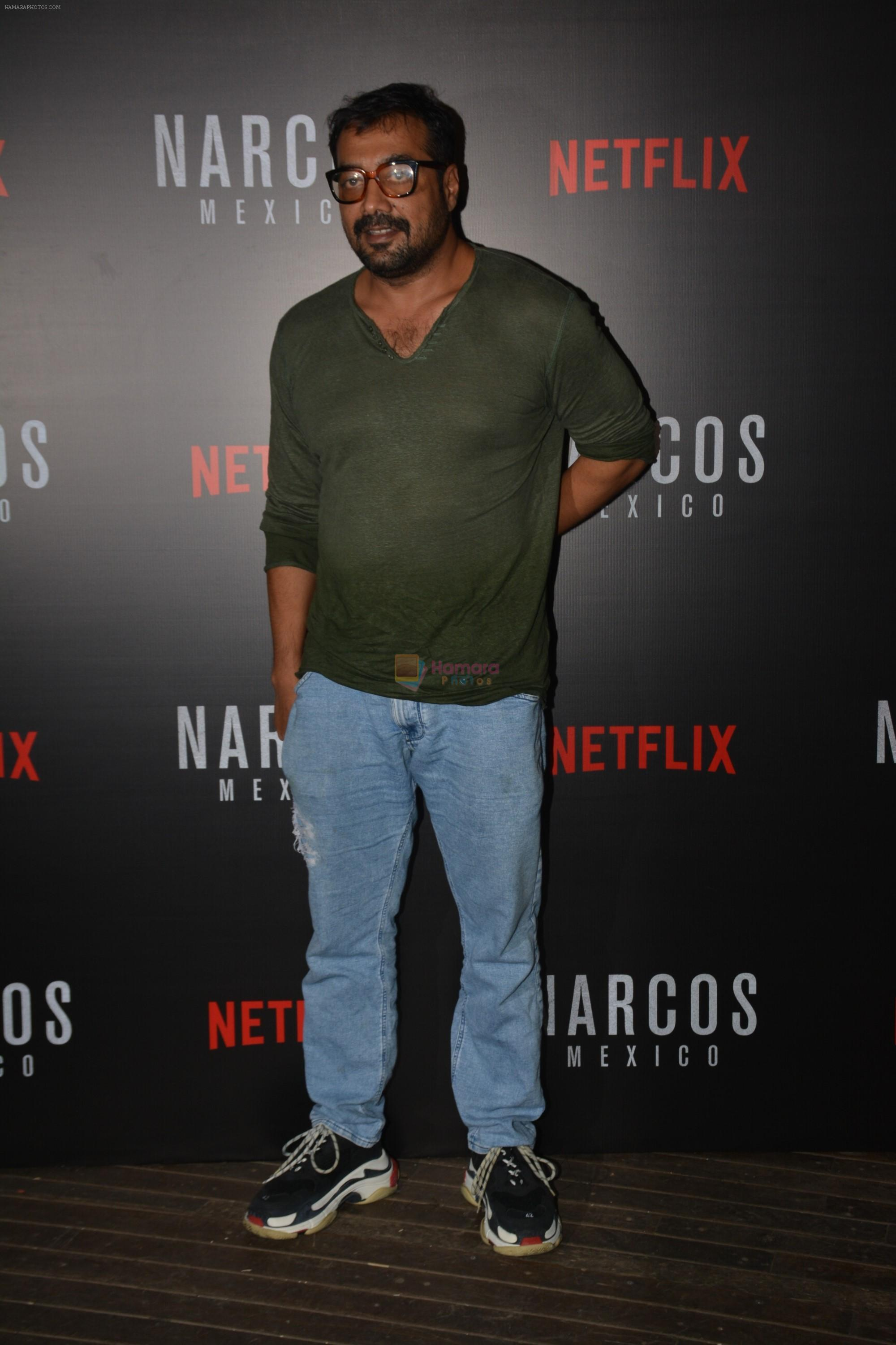 Anurag Kashyap At Meet and Greet With Team Of Webseries Narcos Mexico in Mumbai on 11th Nov 2018