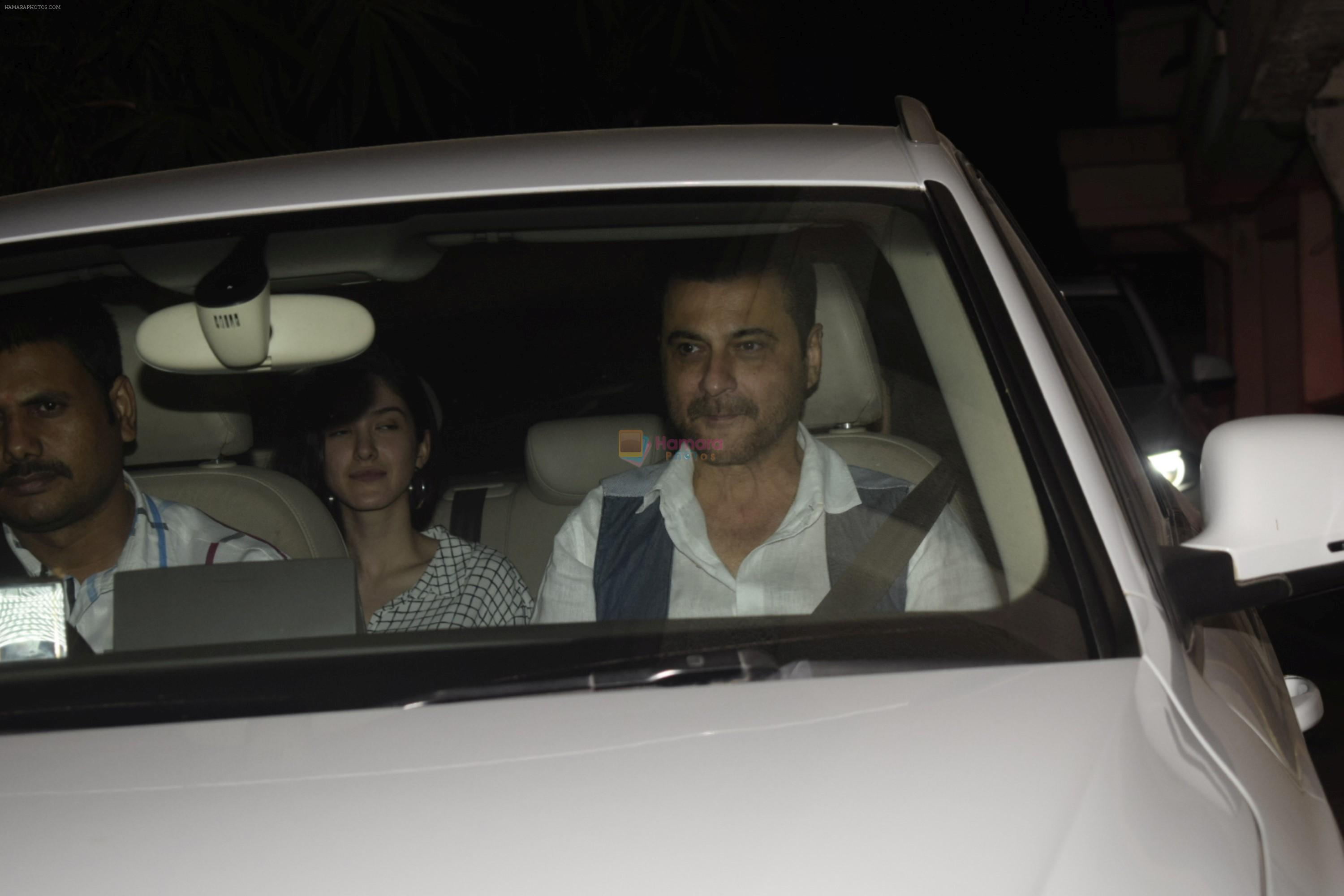 Sanjay Kapoor at Boney Kapoor Birthday Celebrations in Arjun Kapoor's House In Juhu on 11th Nov 2018