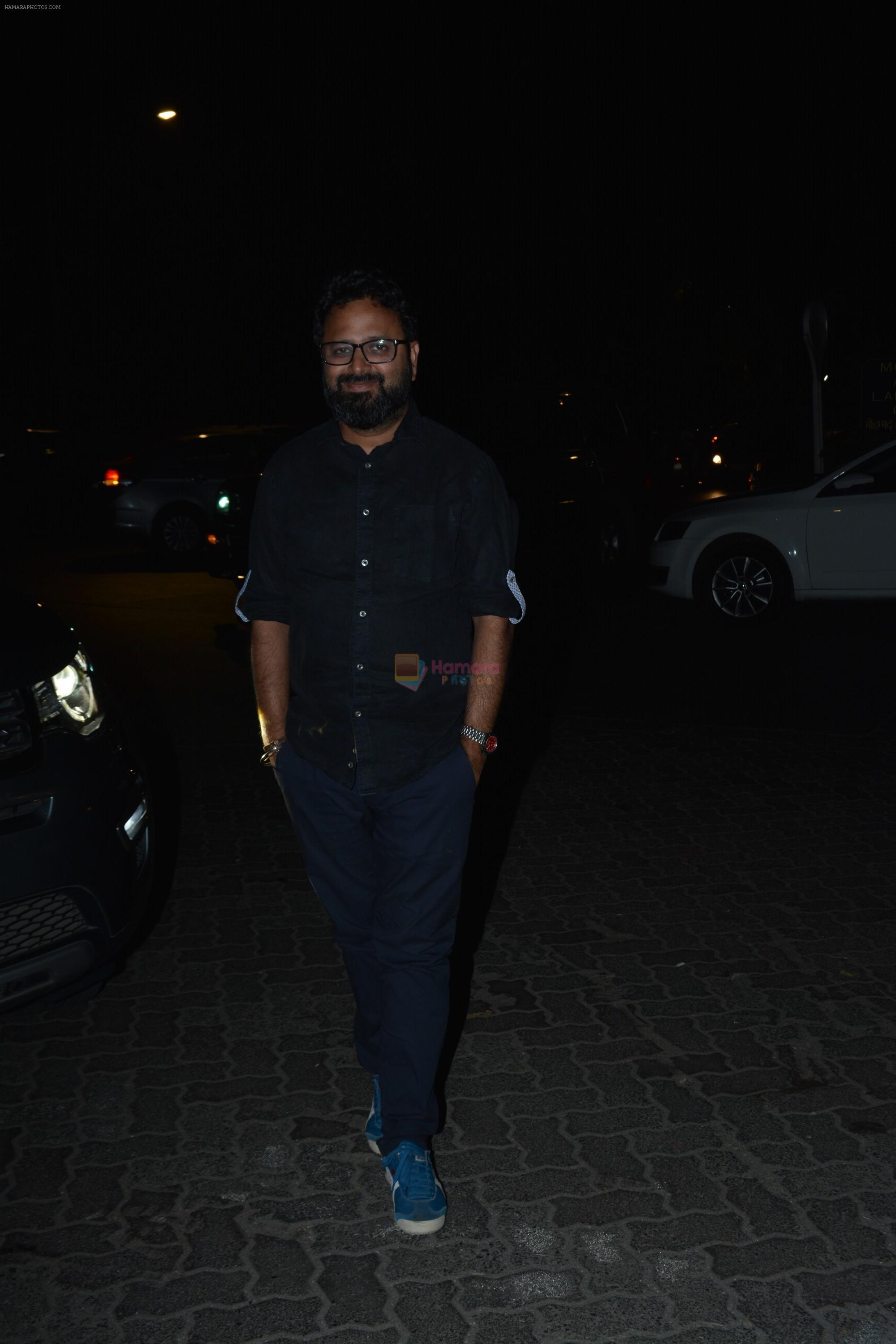 Nikkhil Advani at Milap Zaveri's Birthday party on 14th Nov 2018