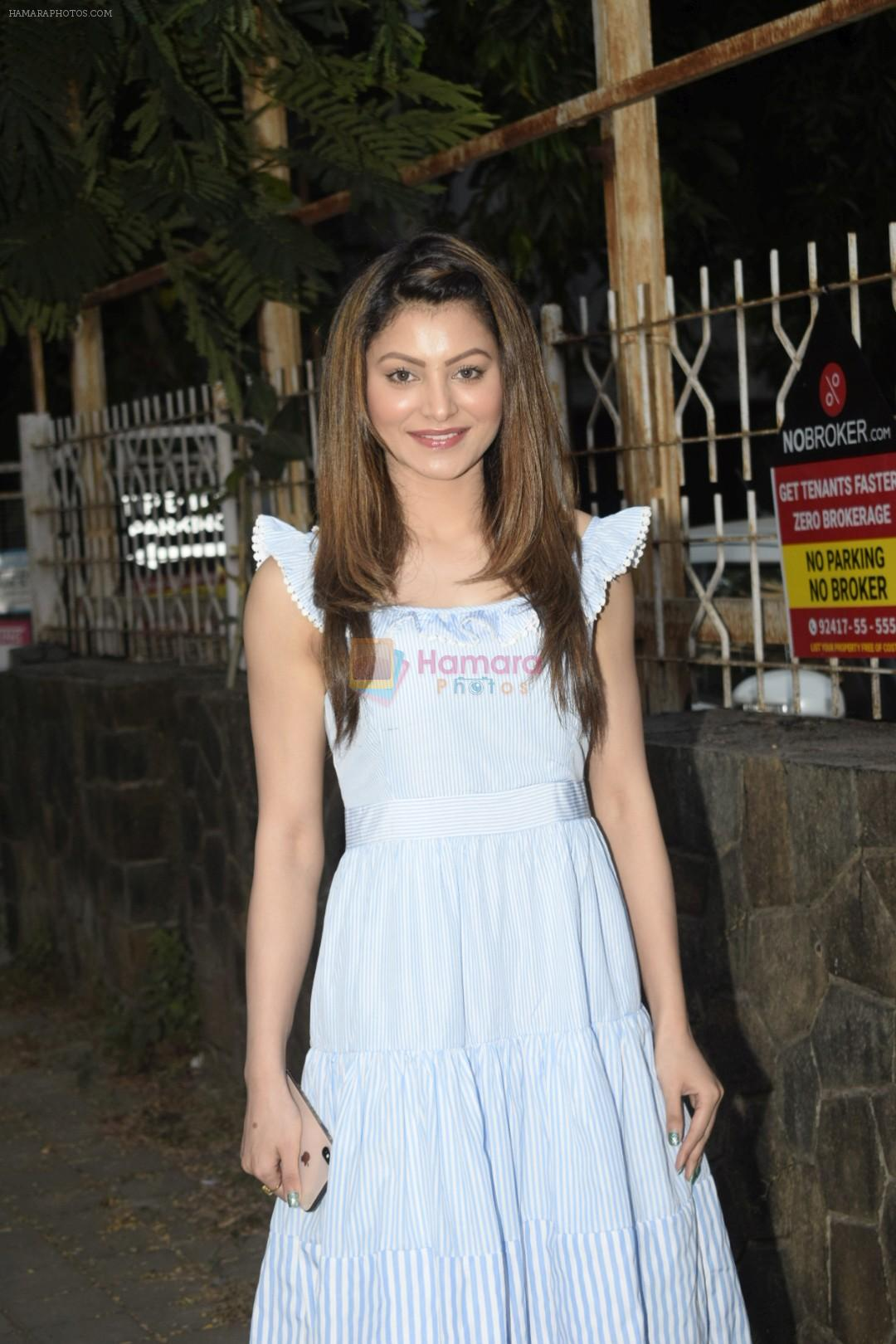 Urvashi Rautela Spotted at juhu on 14th Nov 2018