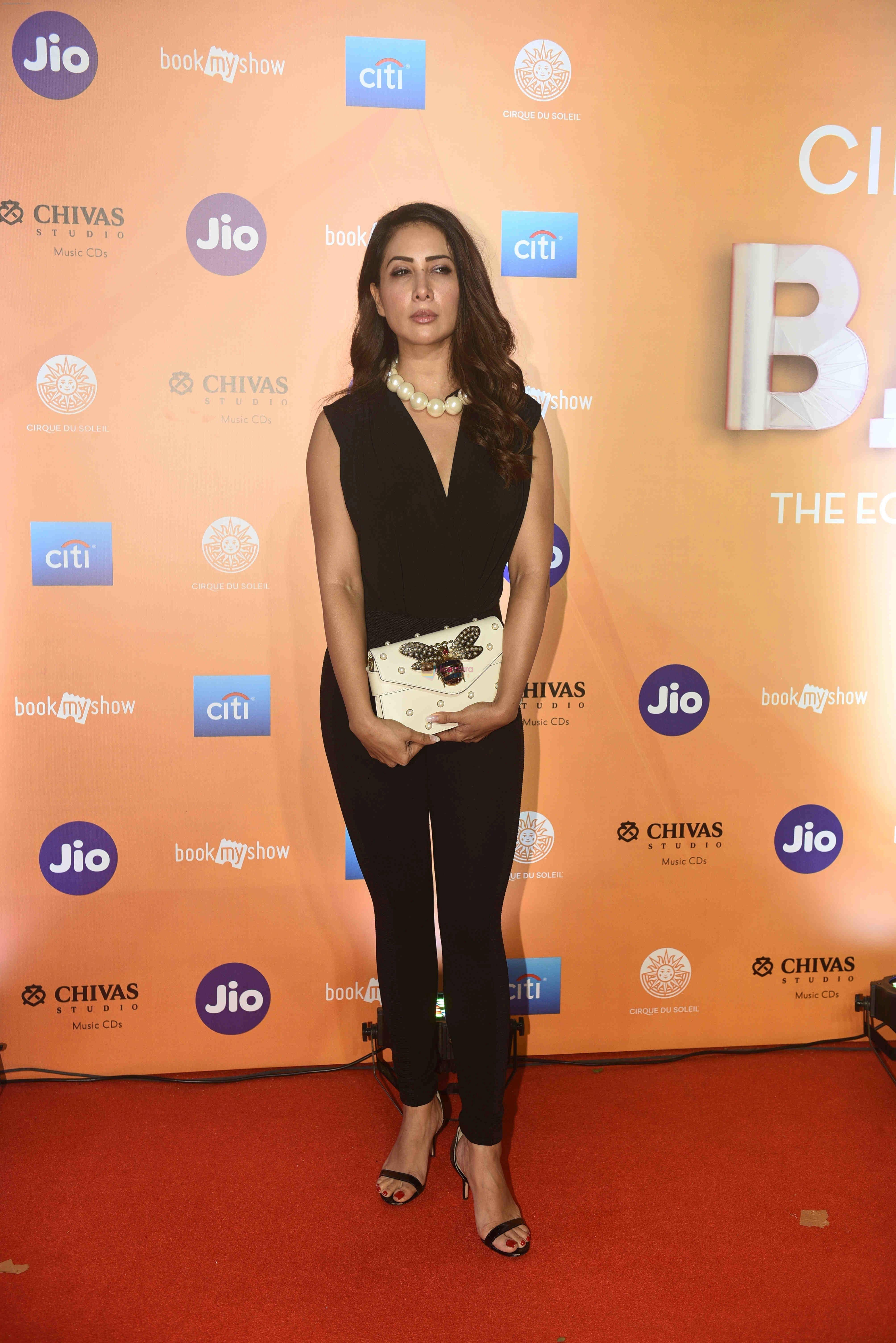 Kim Sharma at The Red Carpet Of The World Premiere Of Cirque Du Soleil Bazzar on 14th Nov 2018