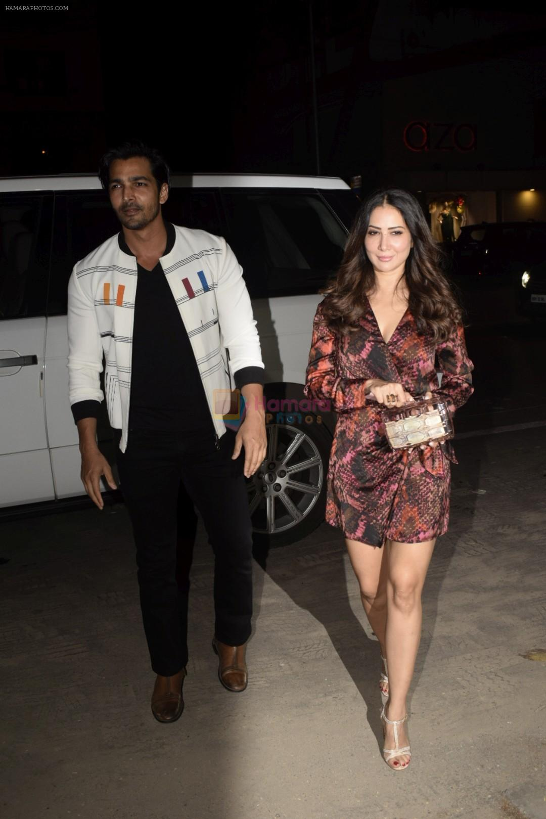 Harshvardhan Rane, Kim Sharma  at the opening night of Soho Club on 15th Nov 2018